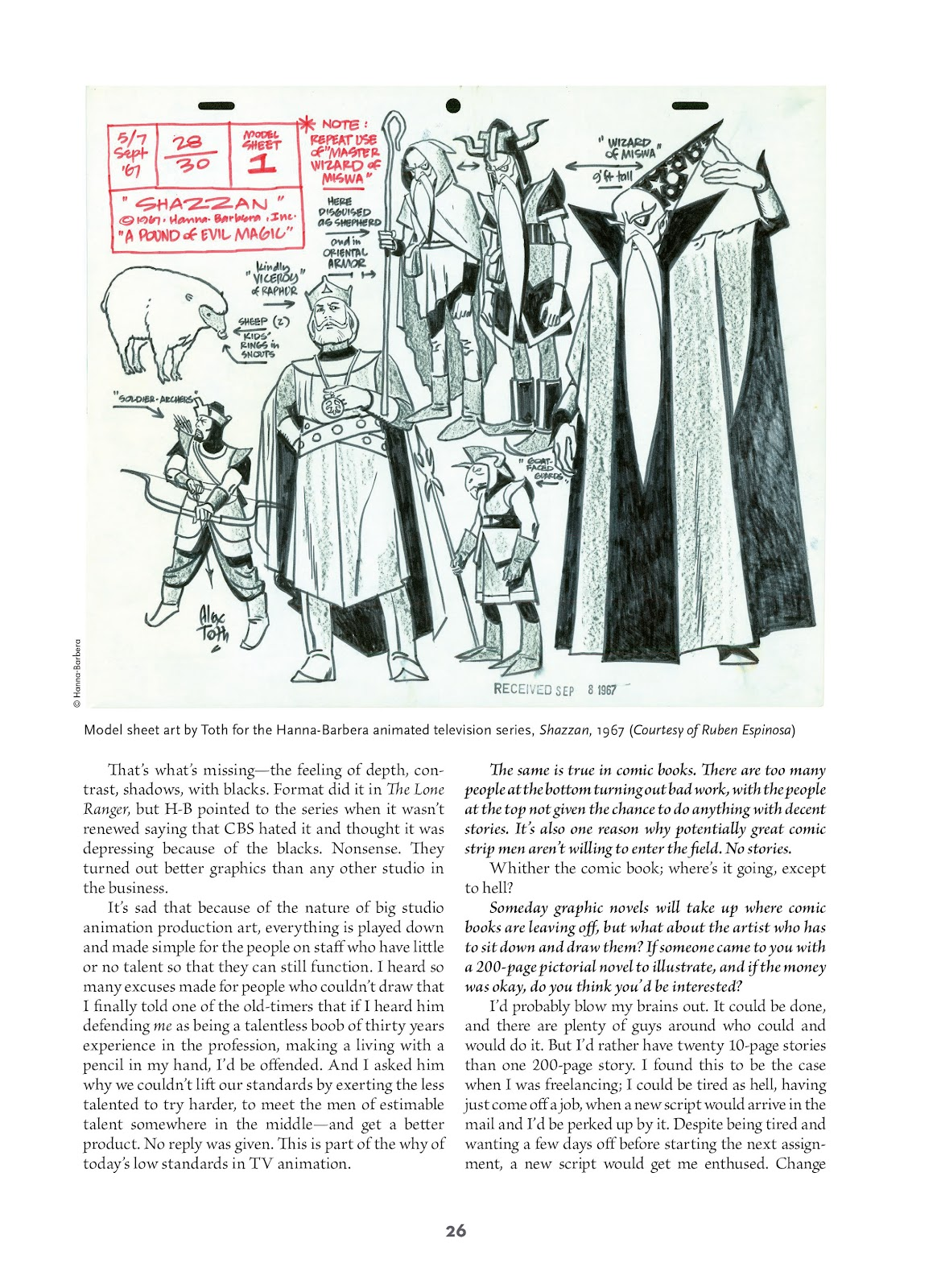 Read online Setting the Standard: Comics by Alex Toth 1952-1954 comic -  Issue # TPB (Part 1) - 25