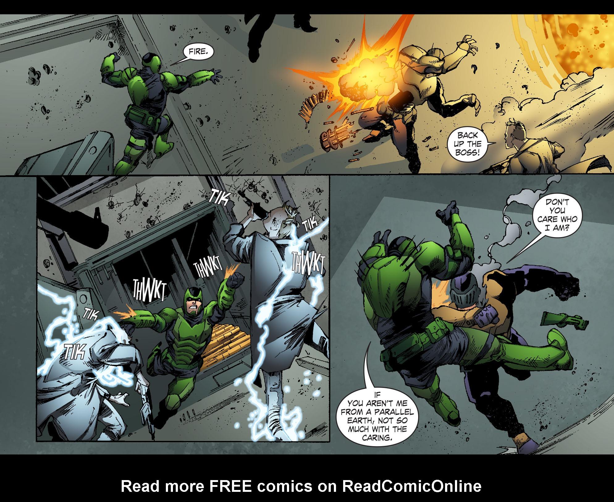 Read online Smallville: Lantern [I] comic -  Issue #11 - 5