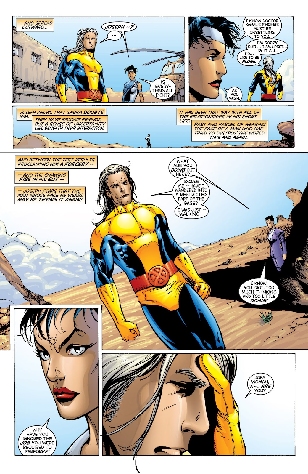 Uncanny X-Men (1963) issue 366 - Page 17