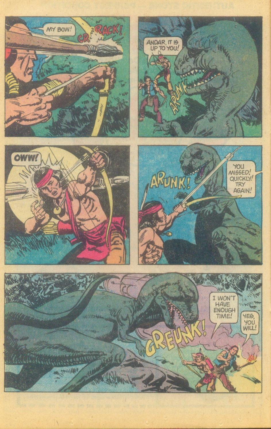 Read online Turok, Son of Stone comic -  Issue #120 - 16