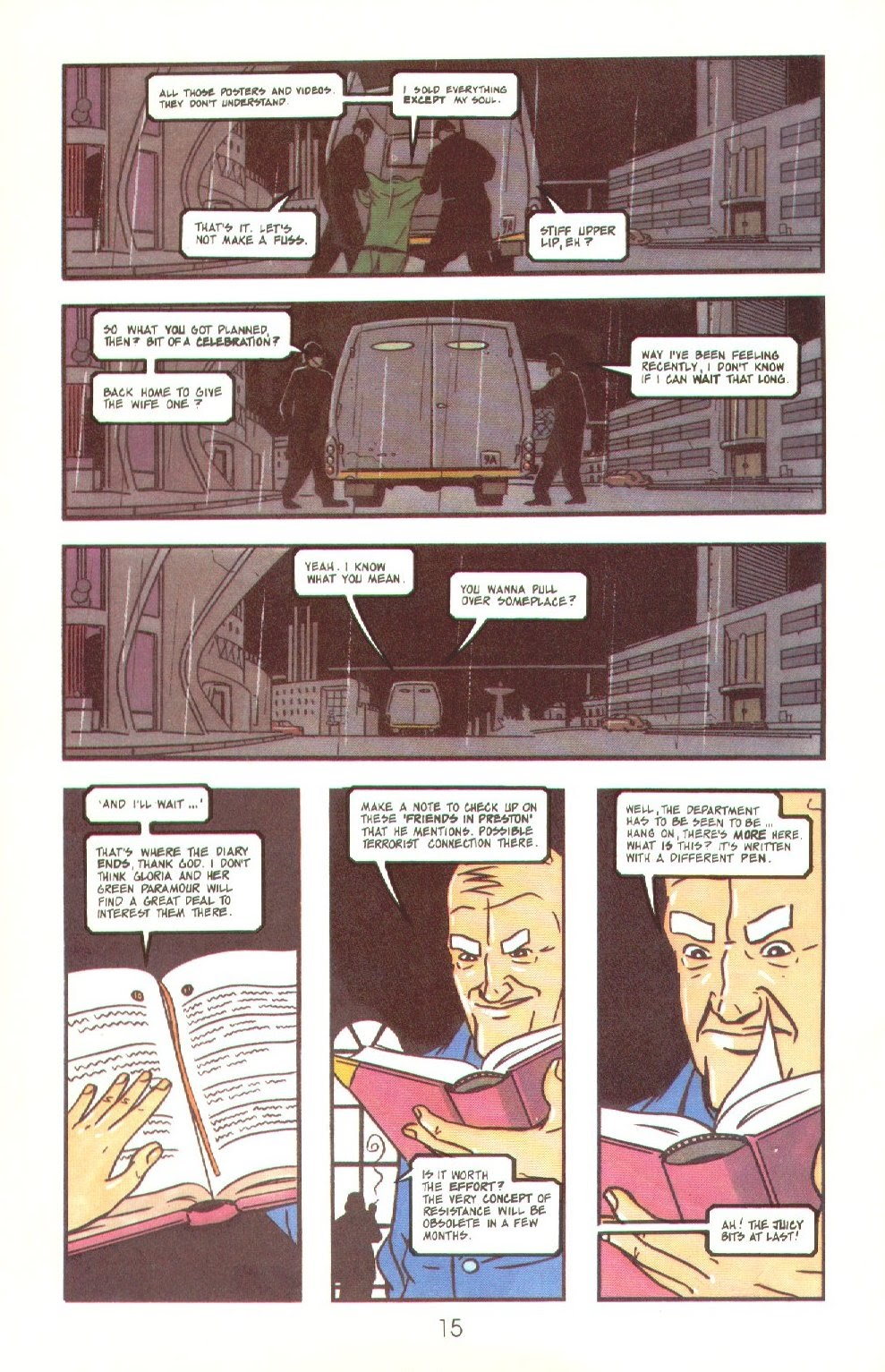 Read online Dare comic -  Issue #4 - 17