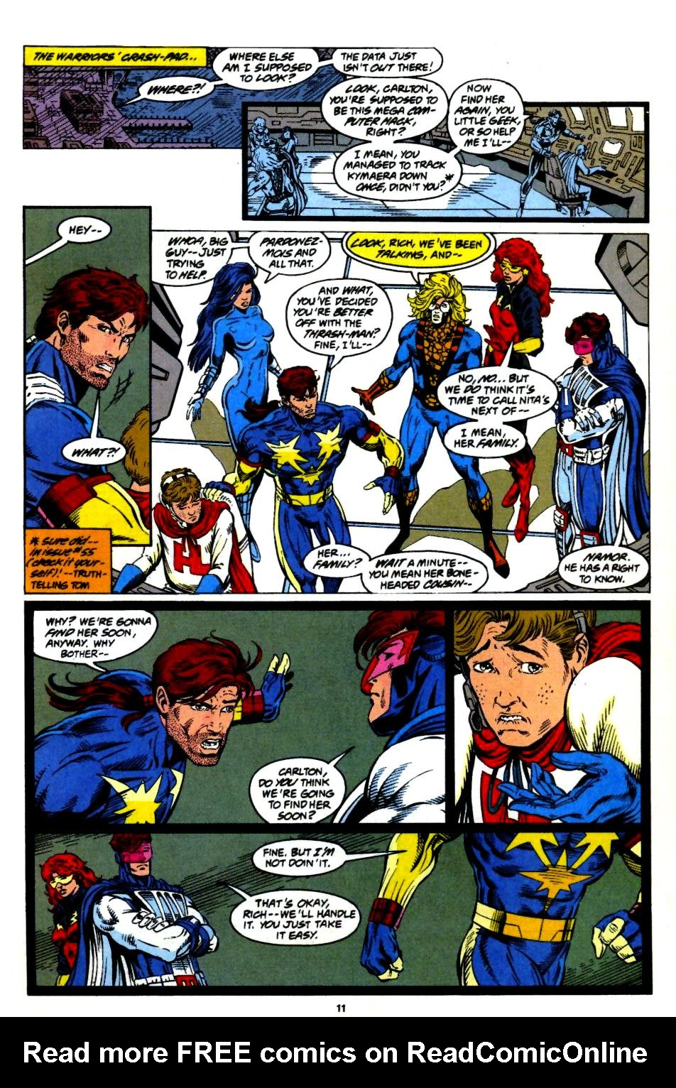 The New Warriors Issue #57 #61 - English 10