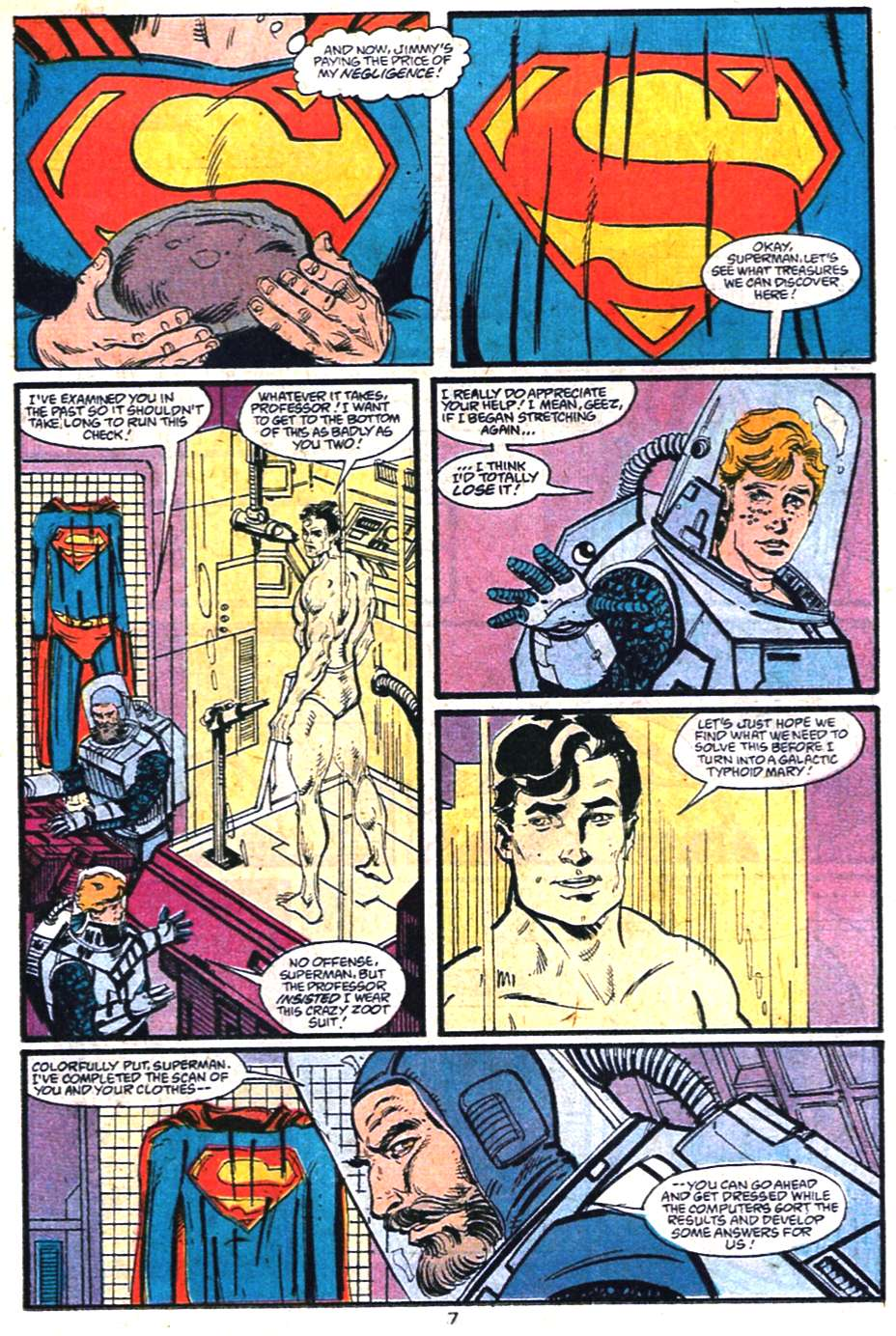 Read online Adventures of Superman (1987) comic -  Issue #459 - 8