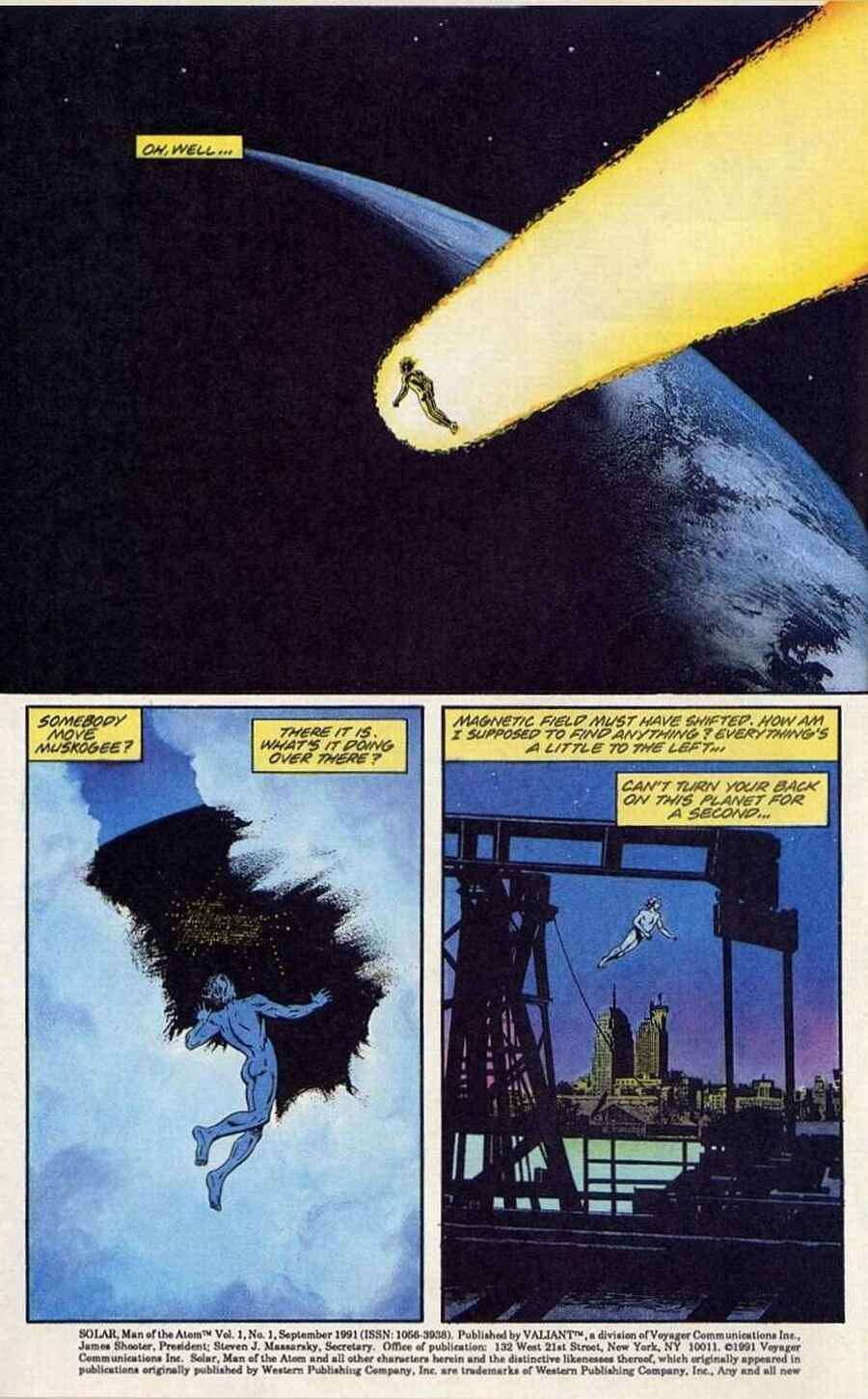 Read online Solar, Man of the Atom comic -  Issue #1 - 3