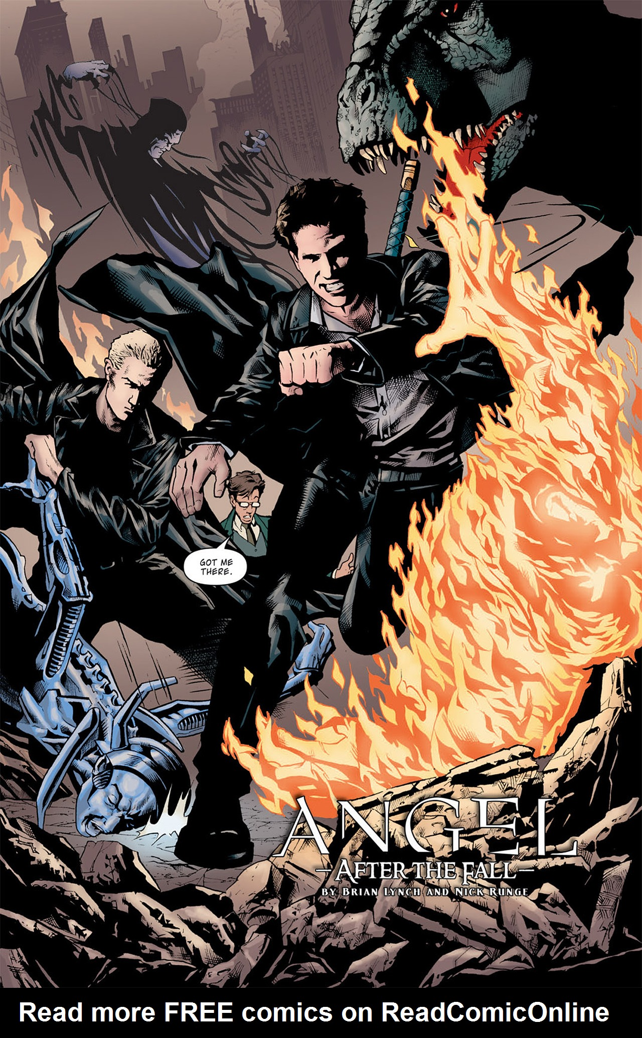 Read online Angel: After The Fall comic -  Issue #9 - 5