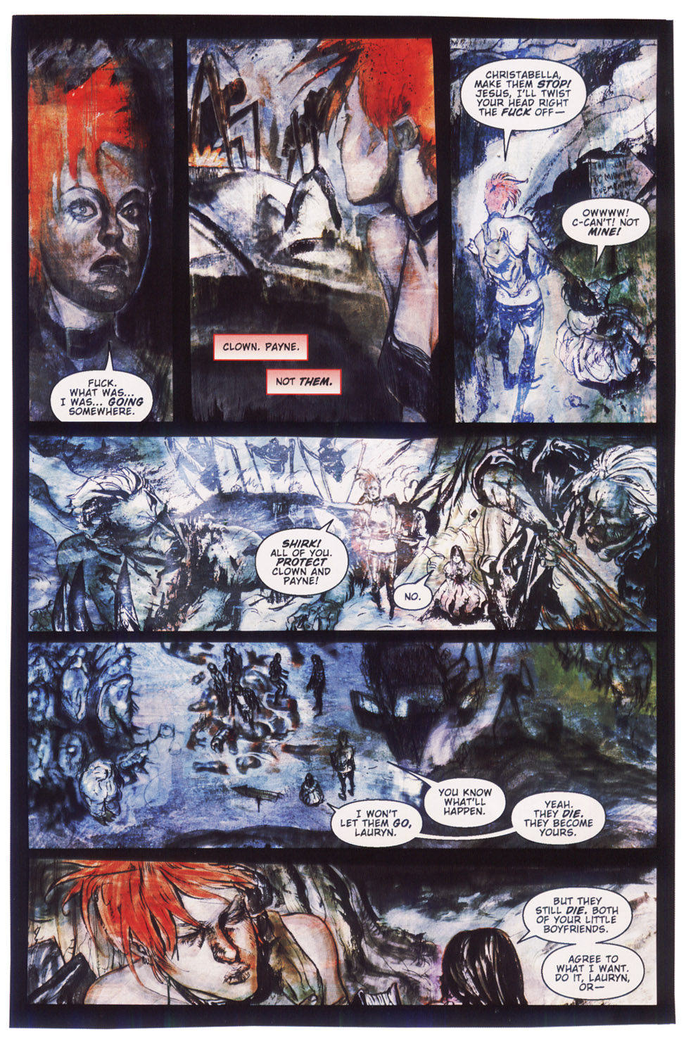 Read online Silent Hill: Dying Inside comic -  Issue #5 - 6