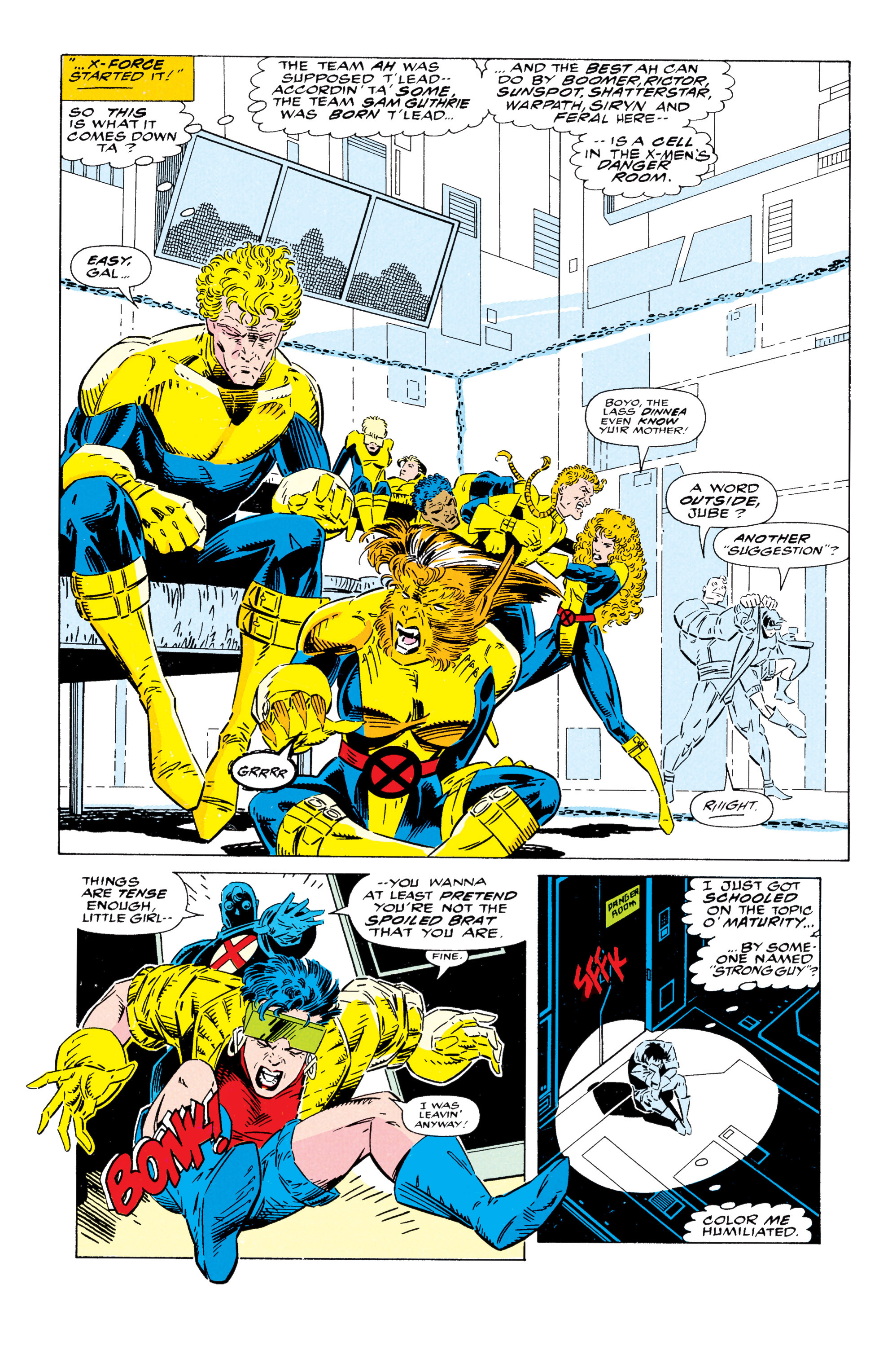 Read online Uncanny X-Men (1963) comic -  Issue #295 - 6