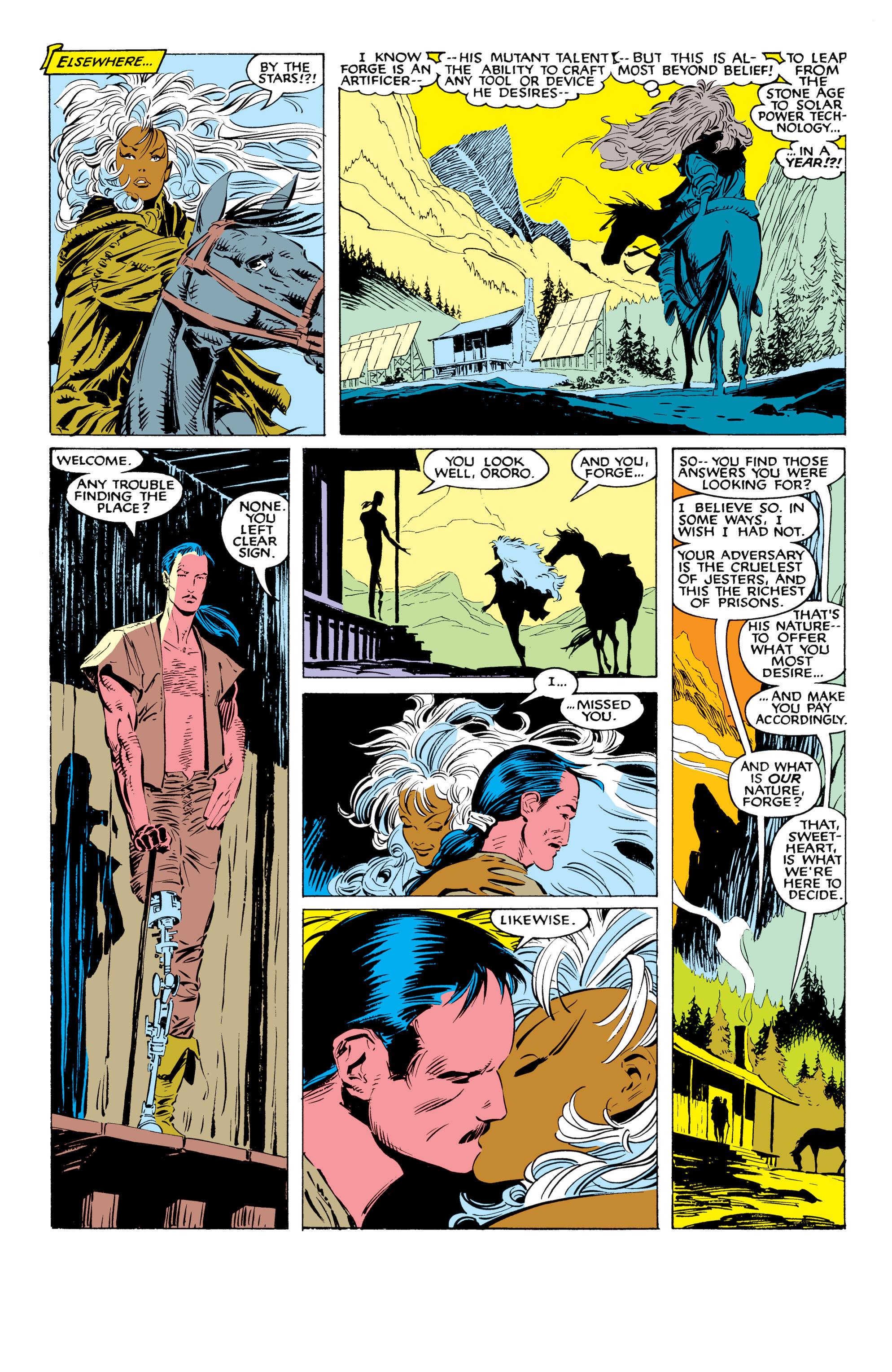 Read online Uncanny X-Men (1963) comic -  Issue #226 - 25
