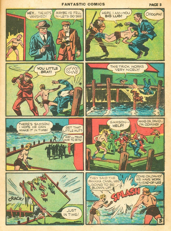 Read online Fantastic Comics comic -  Issue #12 - 5