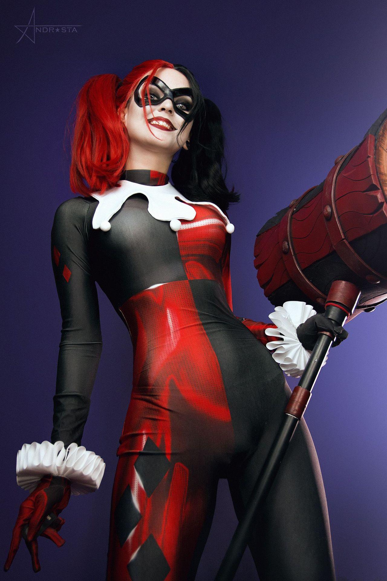 Andrasta Harley Quinn Arkham Cosplay