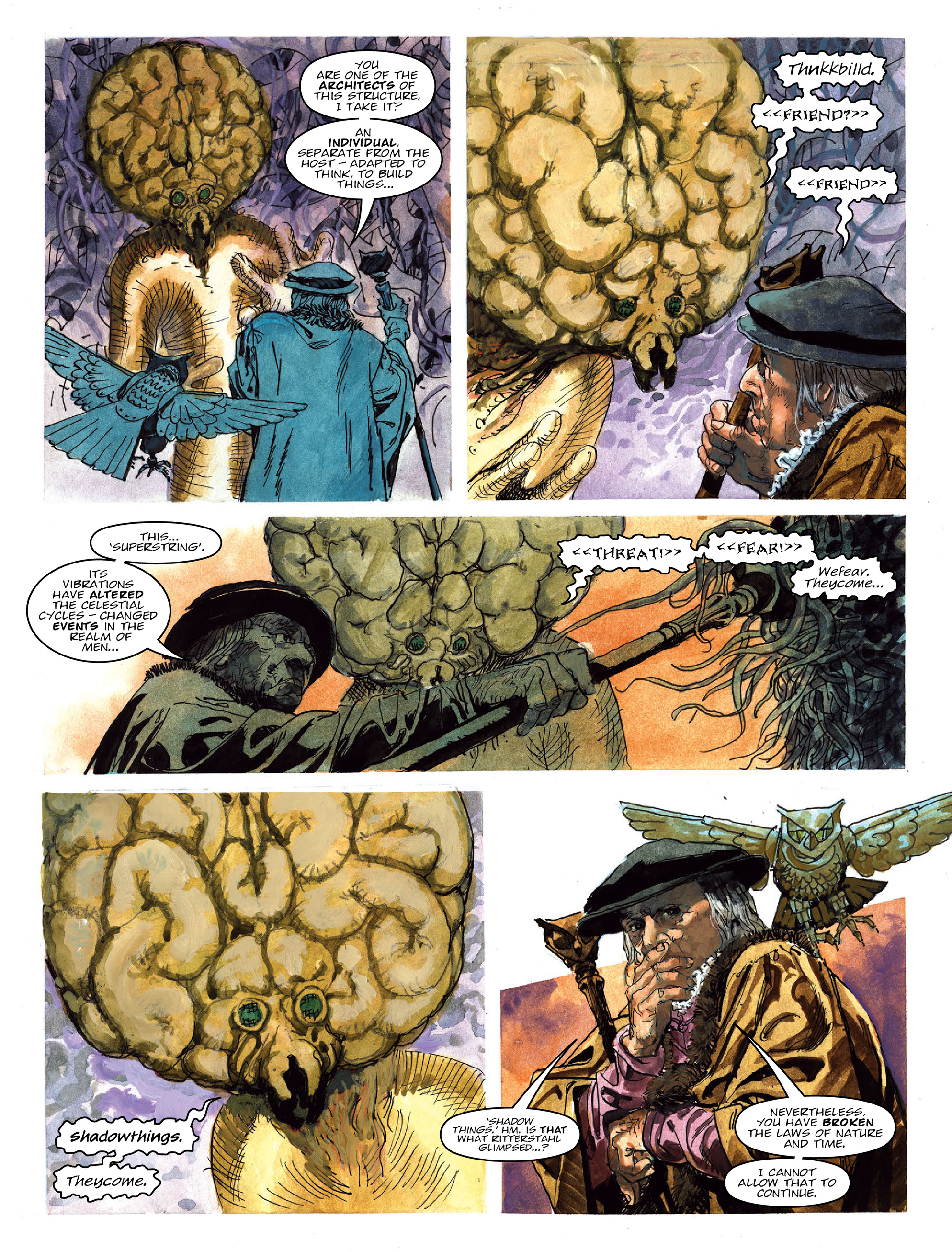 Read online 2000 AD comic -  Issue #2022 - 20