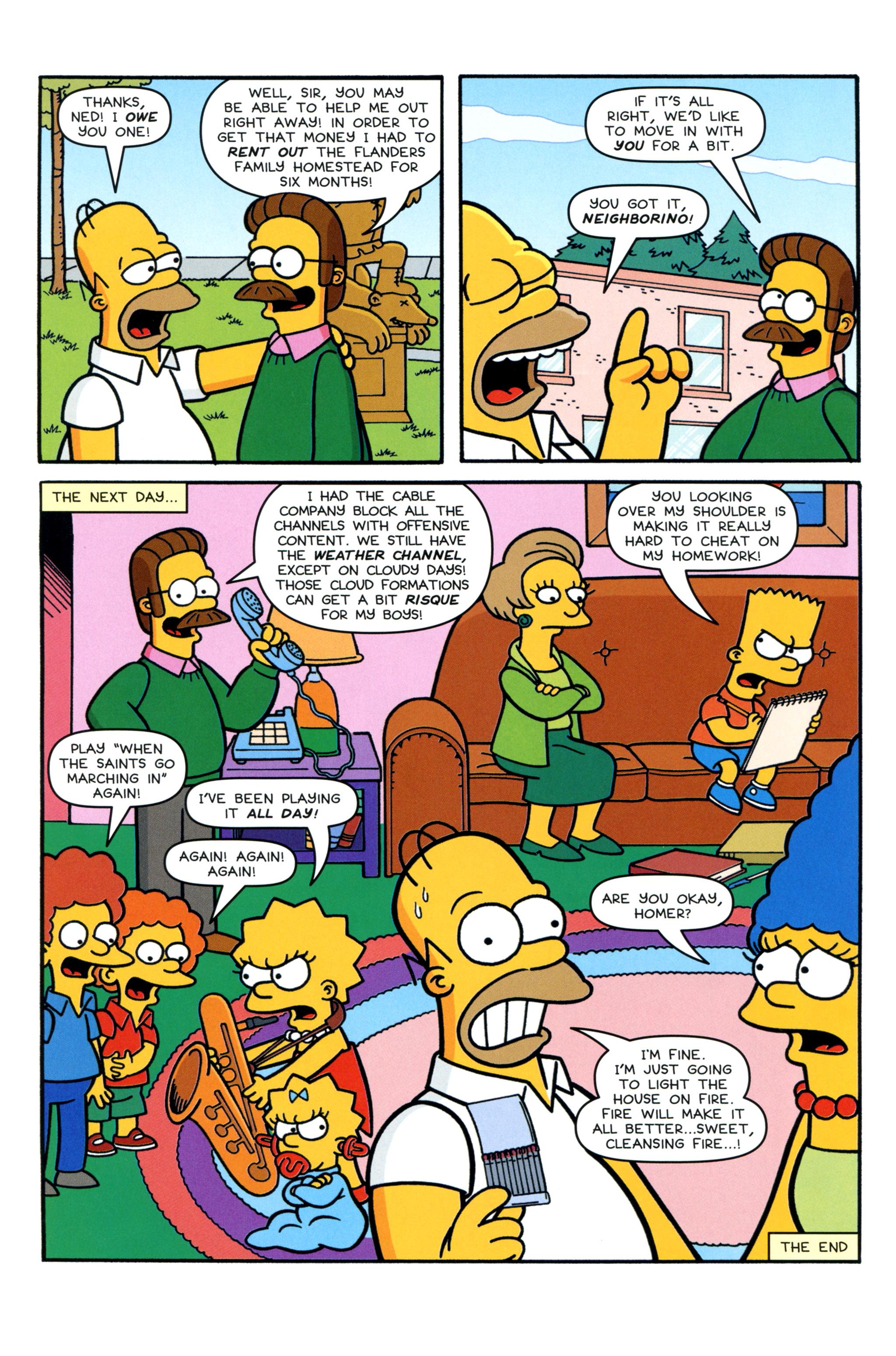 Read online Simpsons Comics comic -  Issue #213 - 24