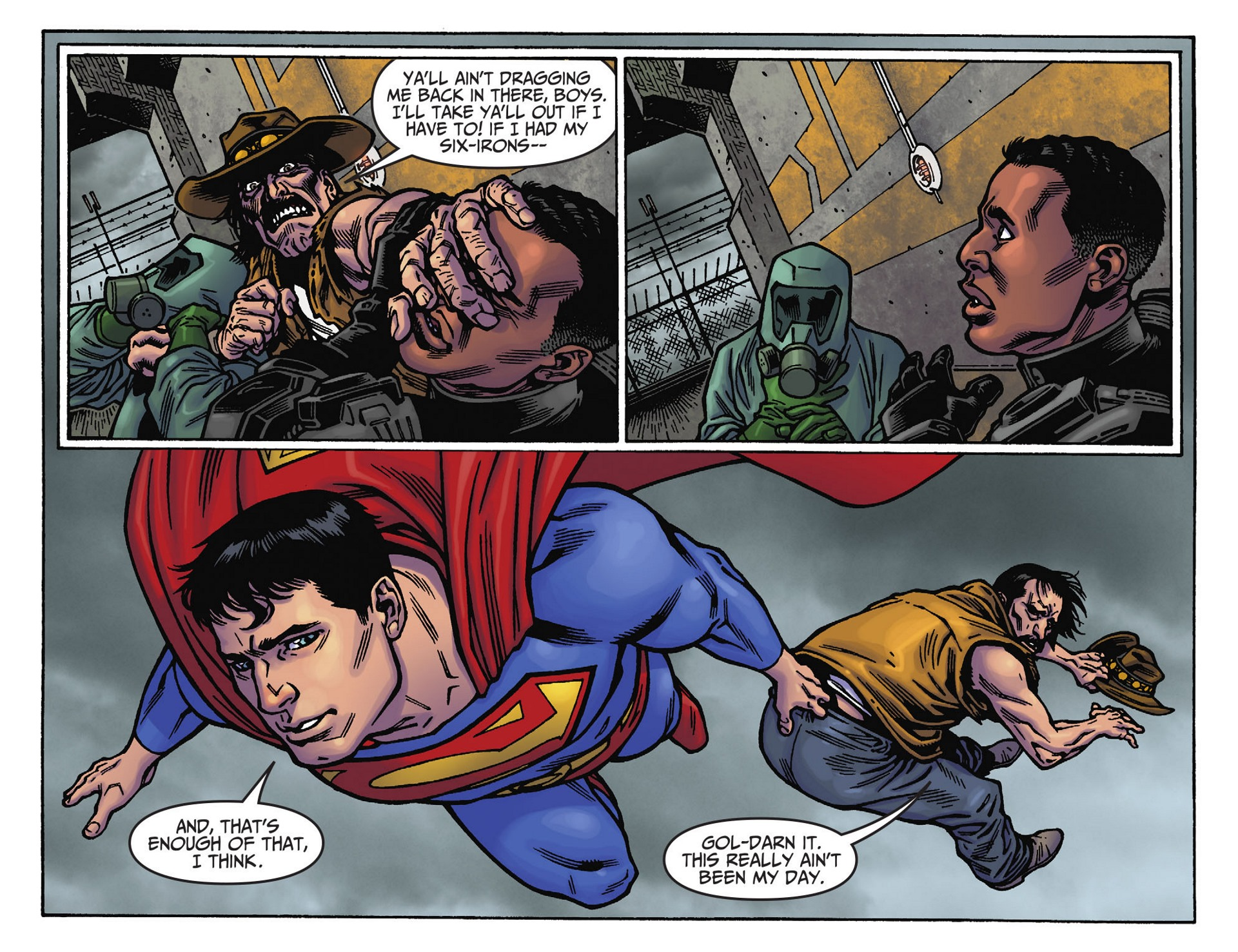 Read online Adventures of Superman [I] comic -  Issue #39 - 6