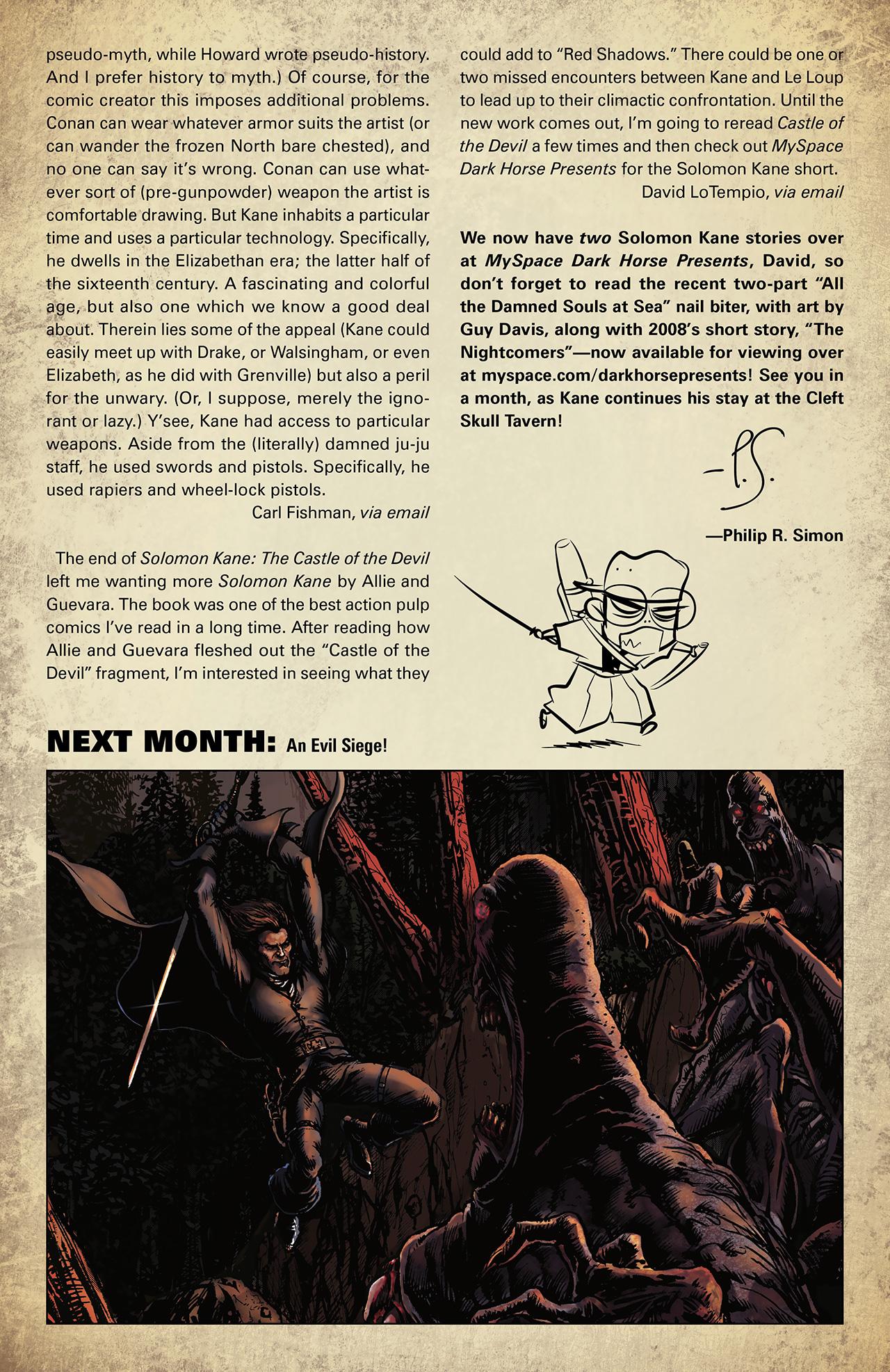 Read online Solomon Kane: Death's Black Riders comic -  Issue #2 - 26