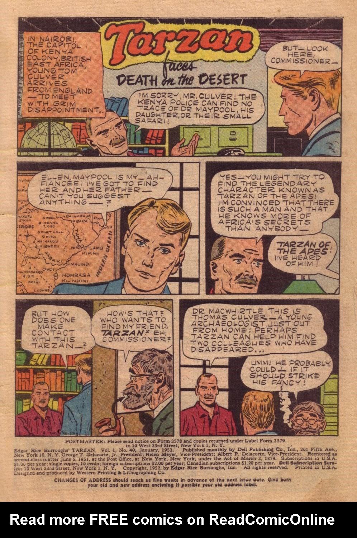 Tarzan (1948) issue 40 - Page 3