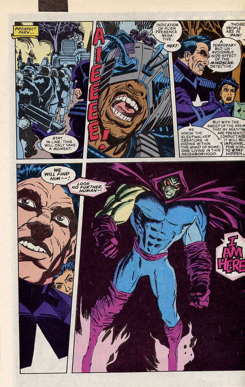 Read online Sleepwalker comic -  Issue #10 - 17