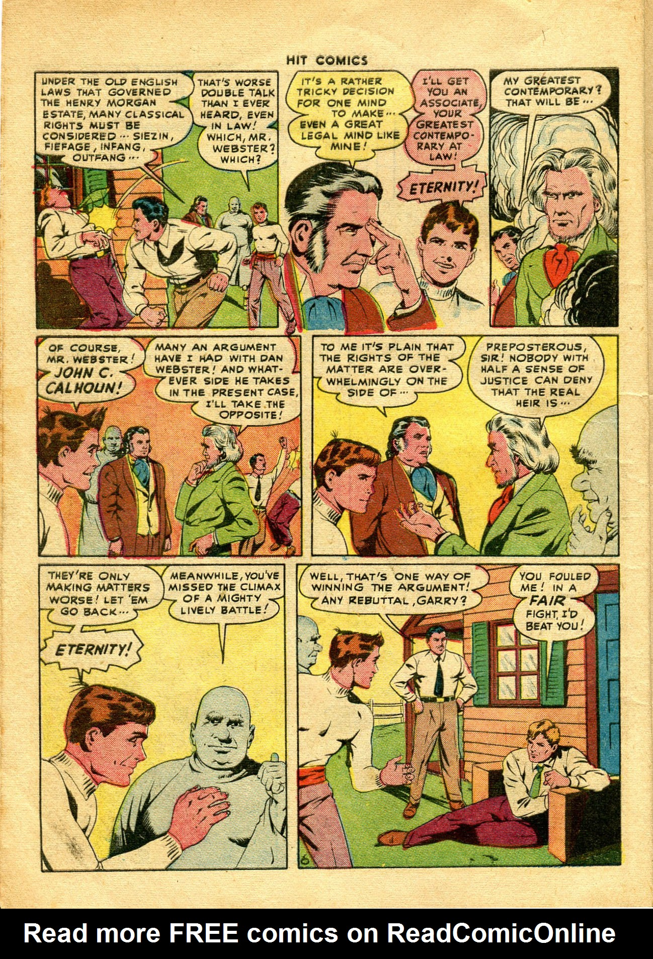 Read online Hit Comics comic -  Issue #48 - 8