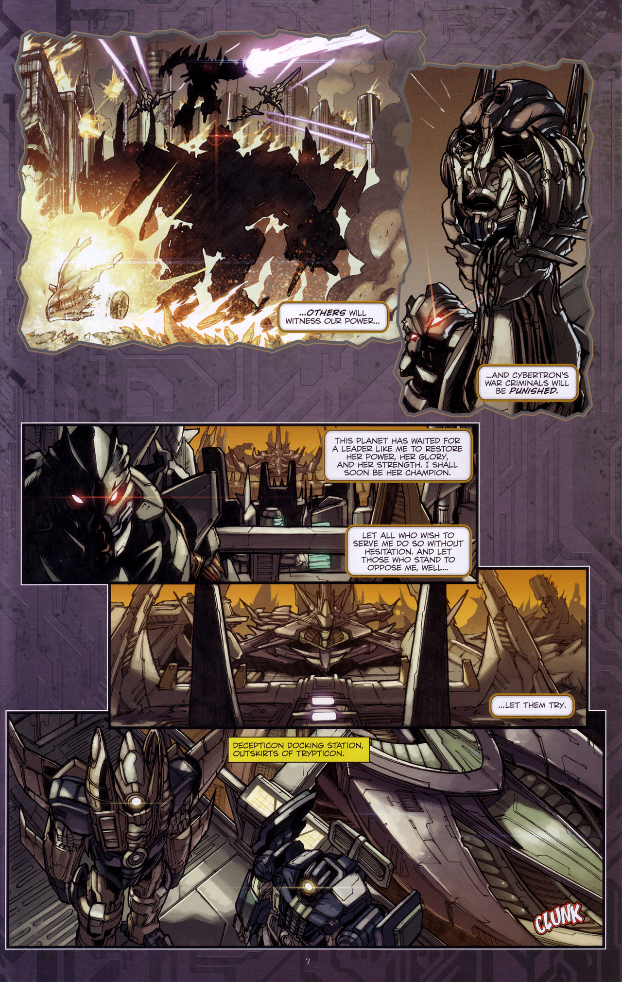 Read online Transformers: The Reign of Starscream comic -  Issue #4 - 9