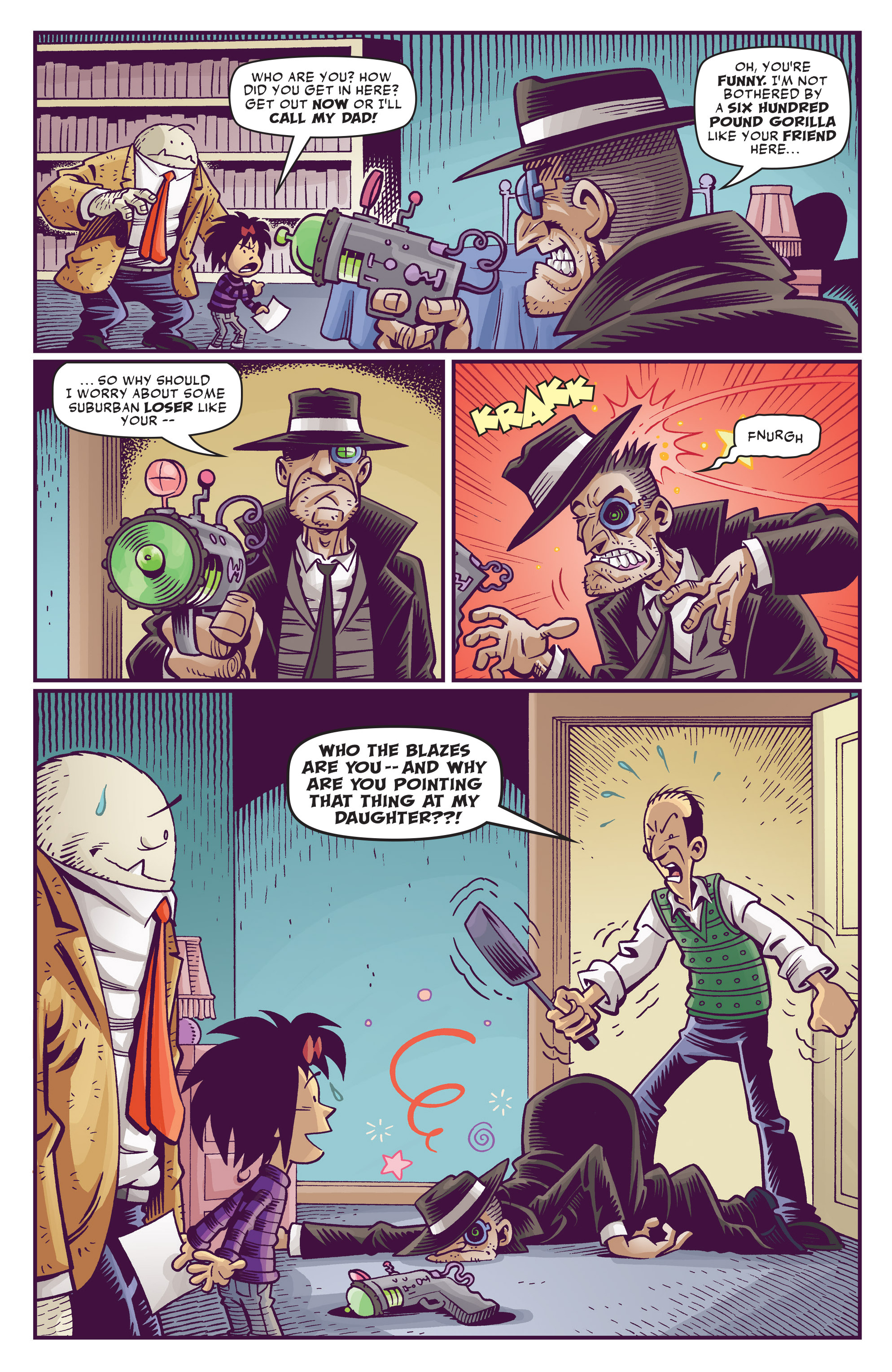 Read online Abigail And The Snowman comic -  Issue #3 - 18
