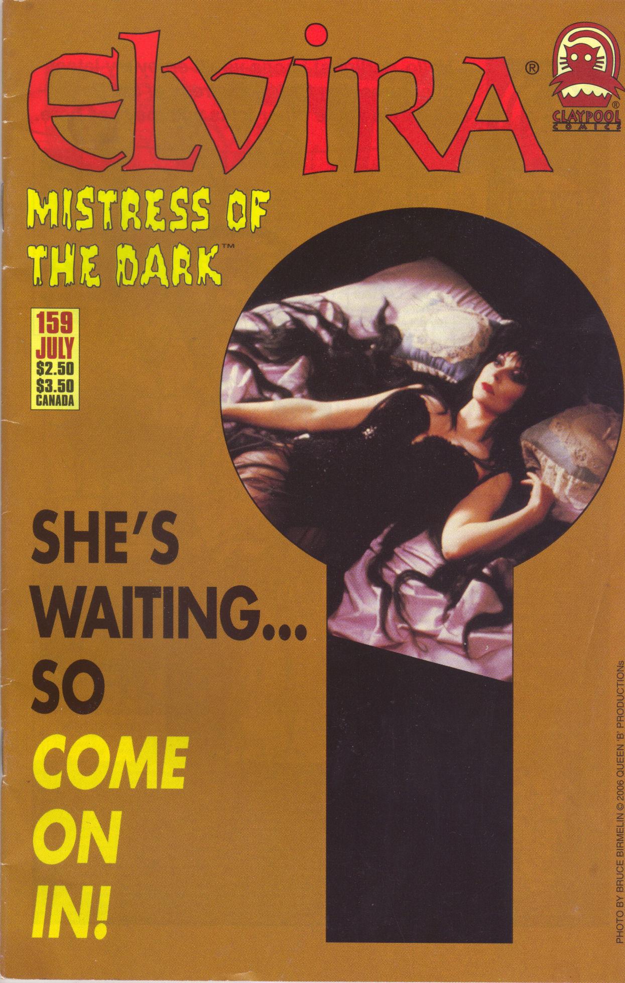 Read online Elvira, Mistress of the Dark comic -  Issue #159 - 1