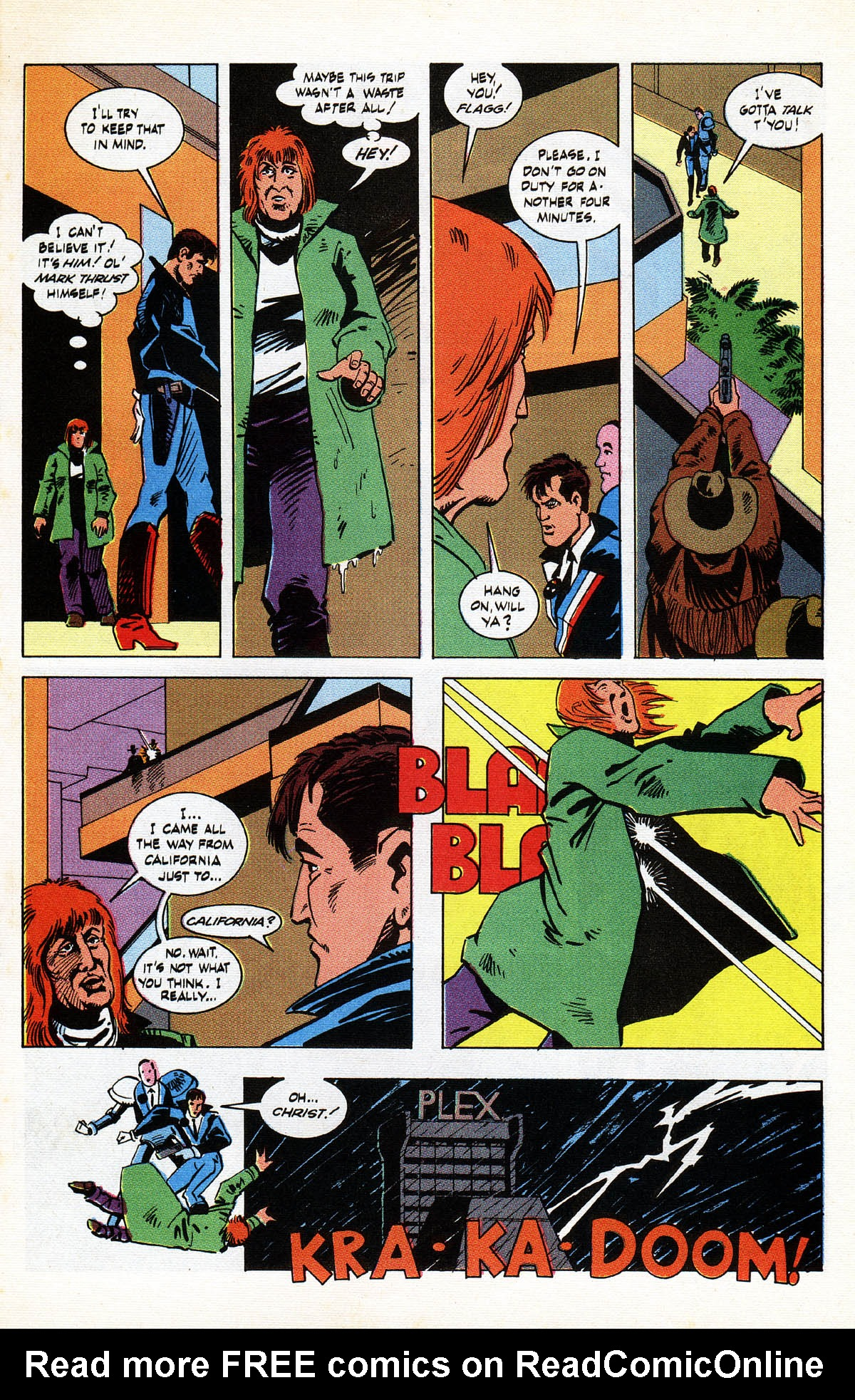 Read online American Flagg! comic -  Issue #38 - 17