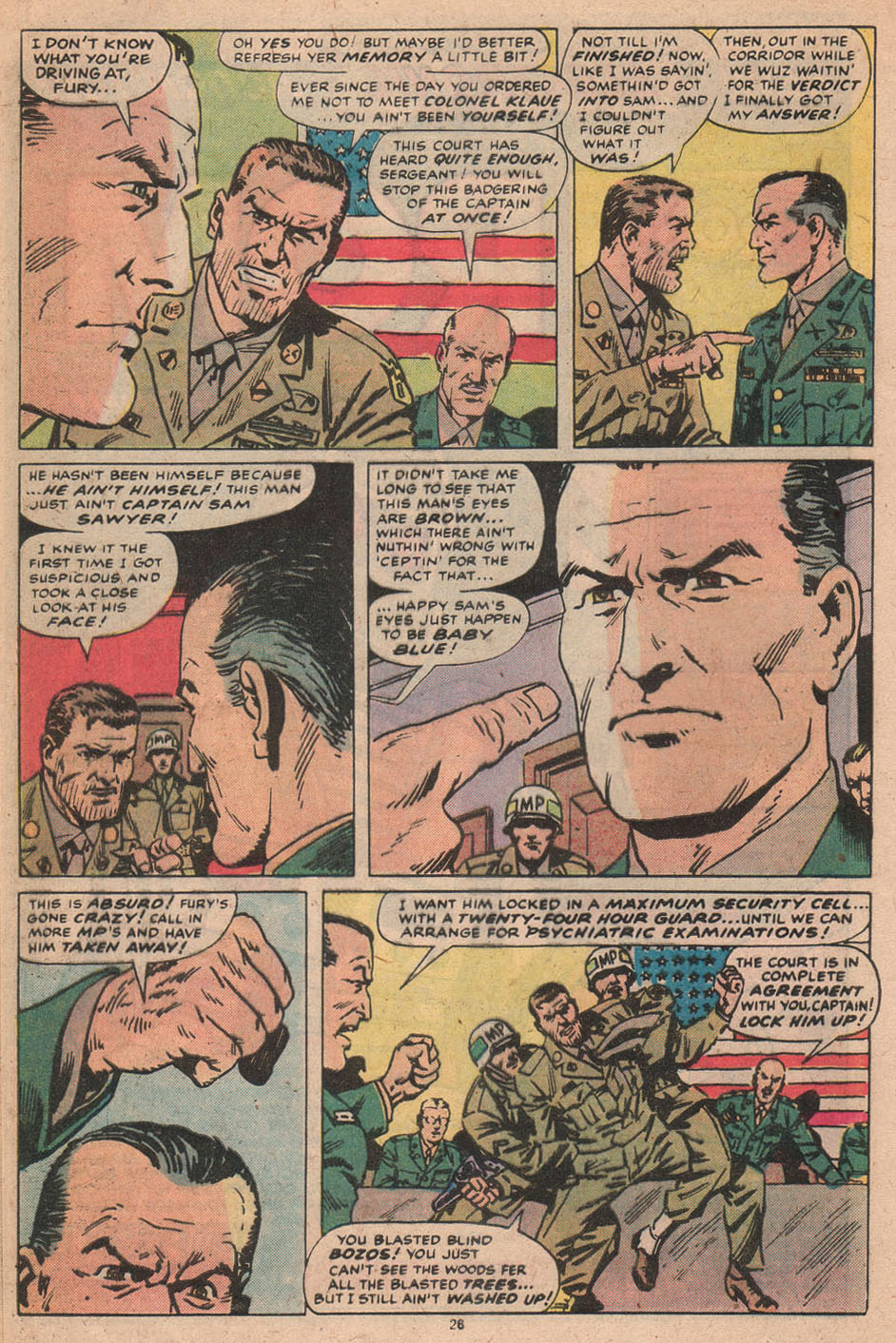 Read online Sgt. Fury comic -  Issue #156 - 27