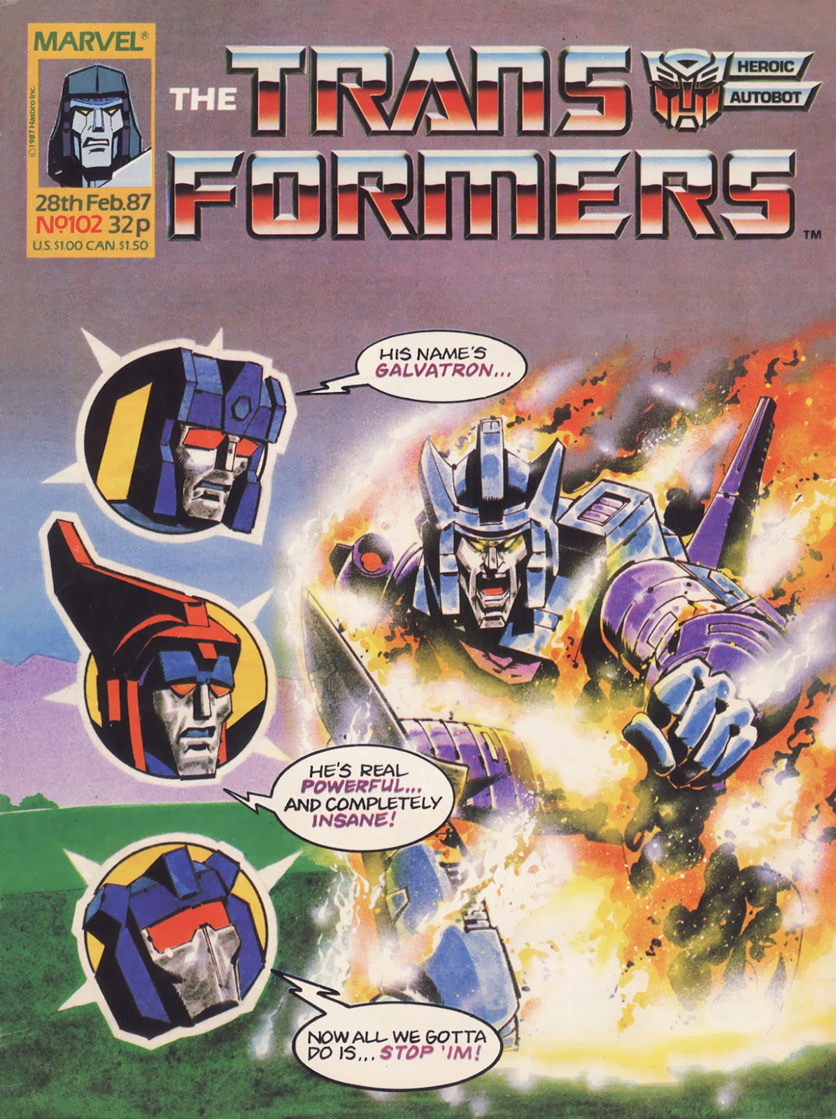 The Transformers (UK) 102 Page 1