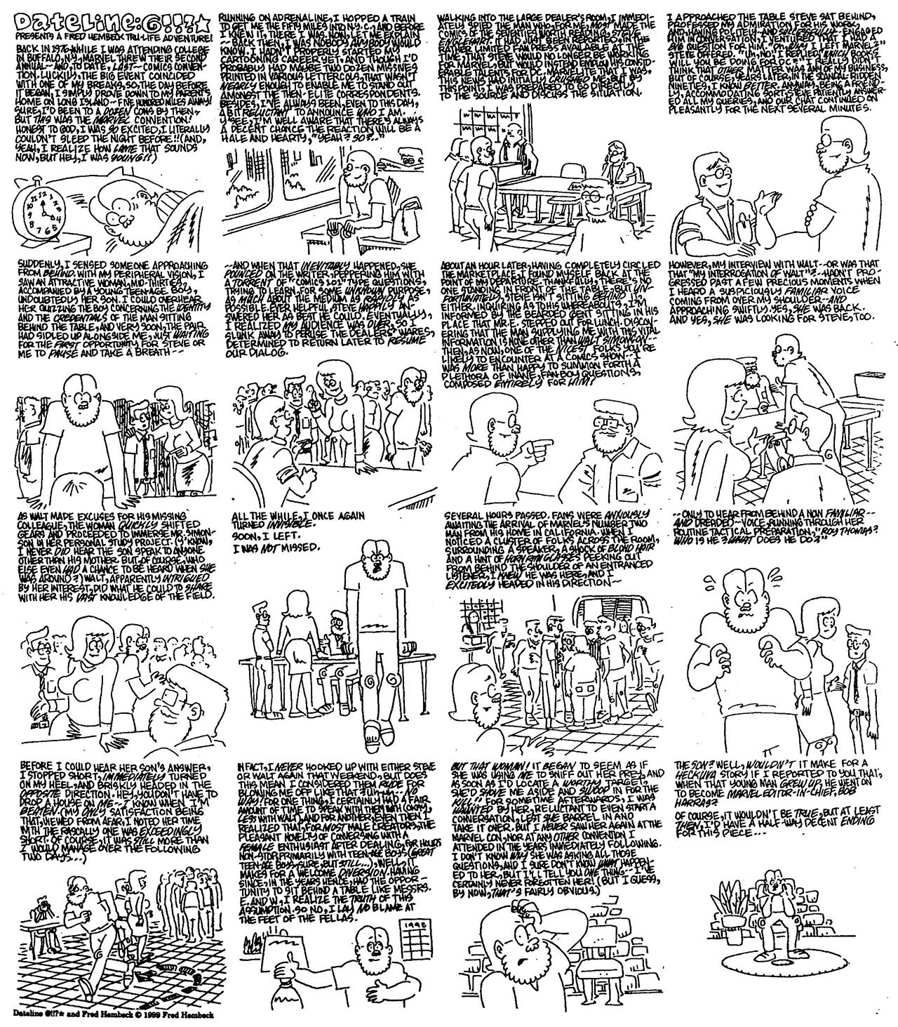 Read online The Nearly Complete Essential Hembeck Archives Omnibus comic -  Issue # TPB (Part 7) - 96