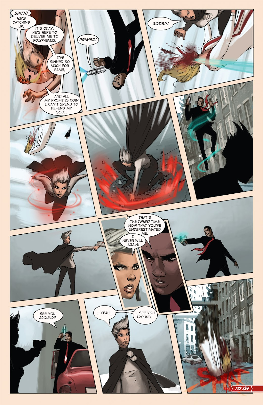 Read online Vescell comic -  Issue #4 - 29