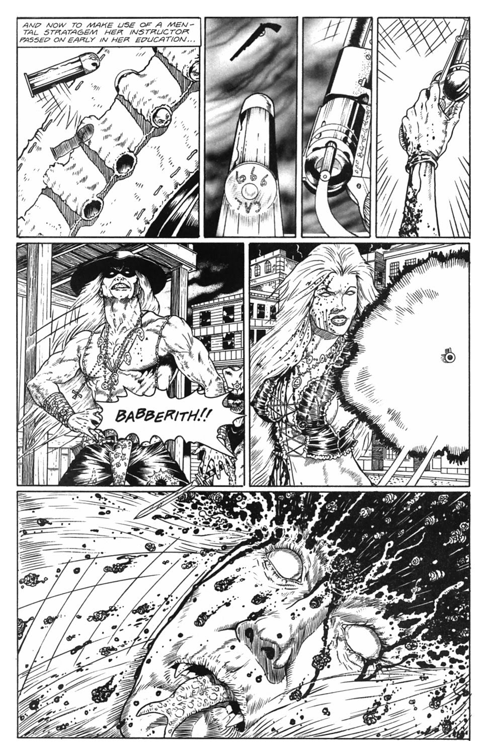 Read online Gunfighters in Hell comic -  Issue #5 - 34