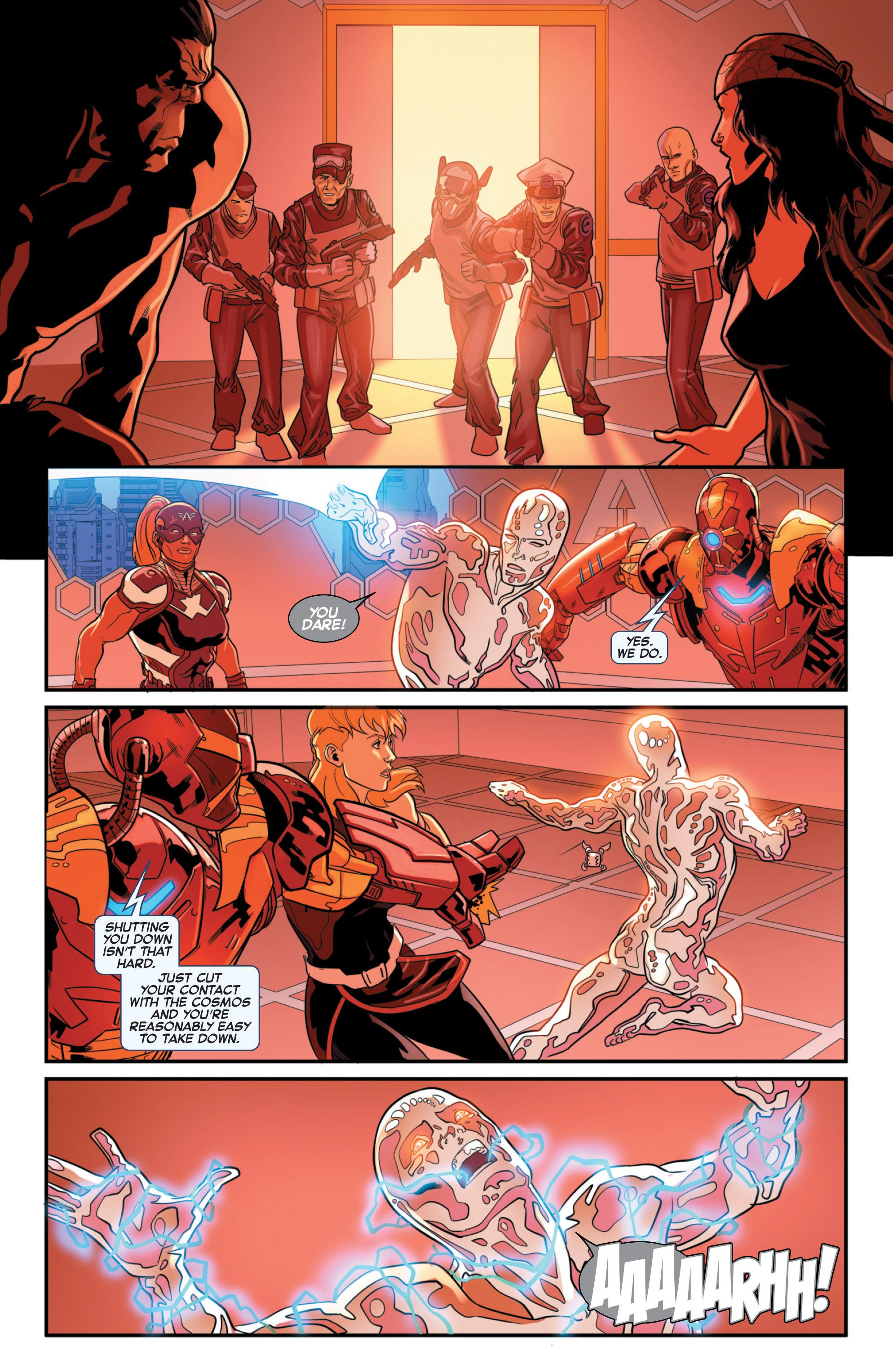 Read online Secret Wars 2099 comic -  Issue #3 - 20