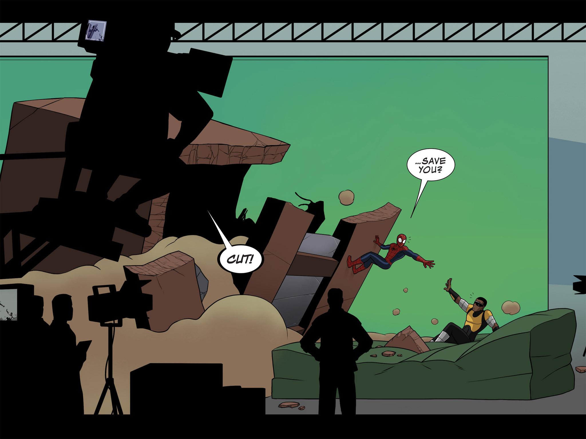 Read online Ultimate Spider-Man (Infinite Comics) (2015) comic -  Issue #10 - 16