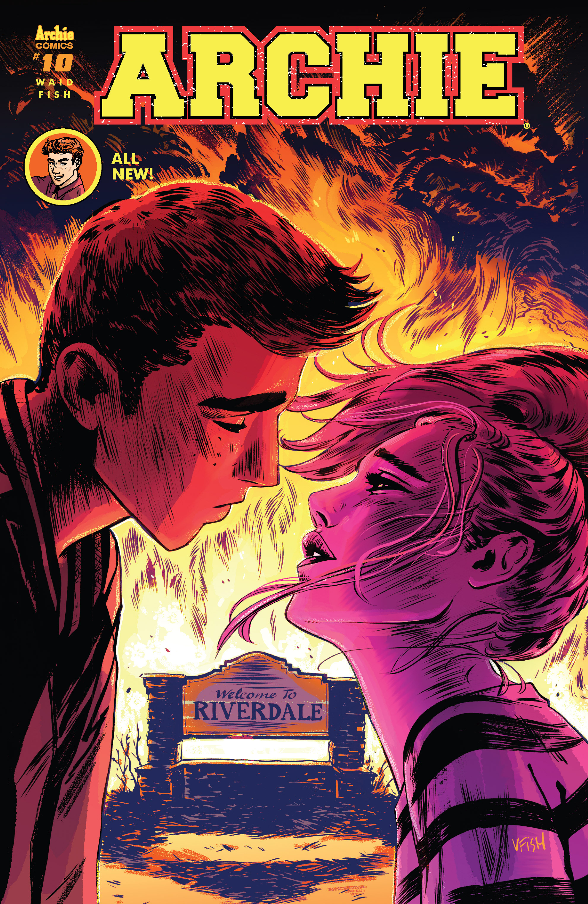 Read online Archie (2015) comic -  Issue #10 - 1