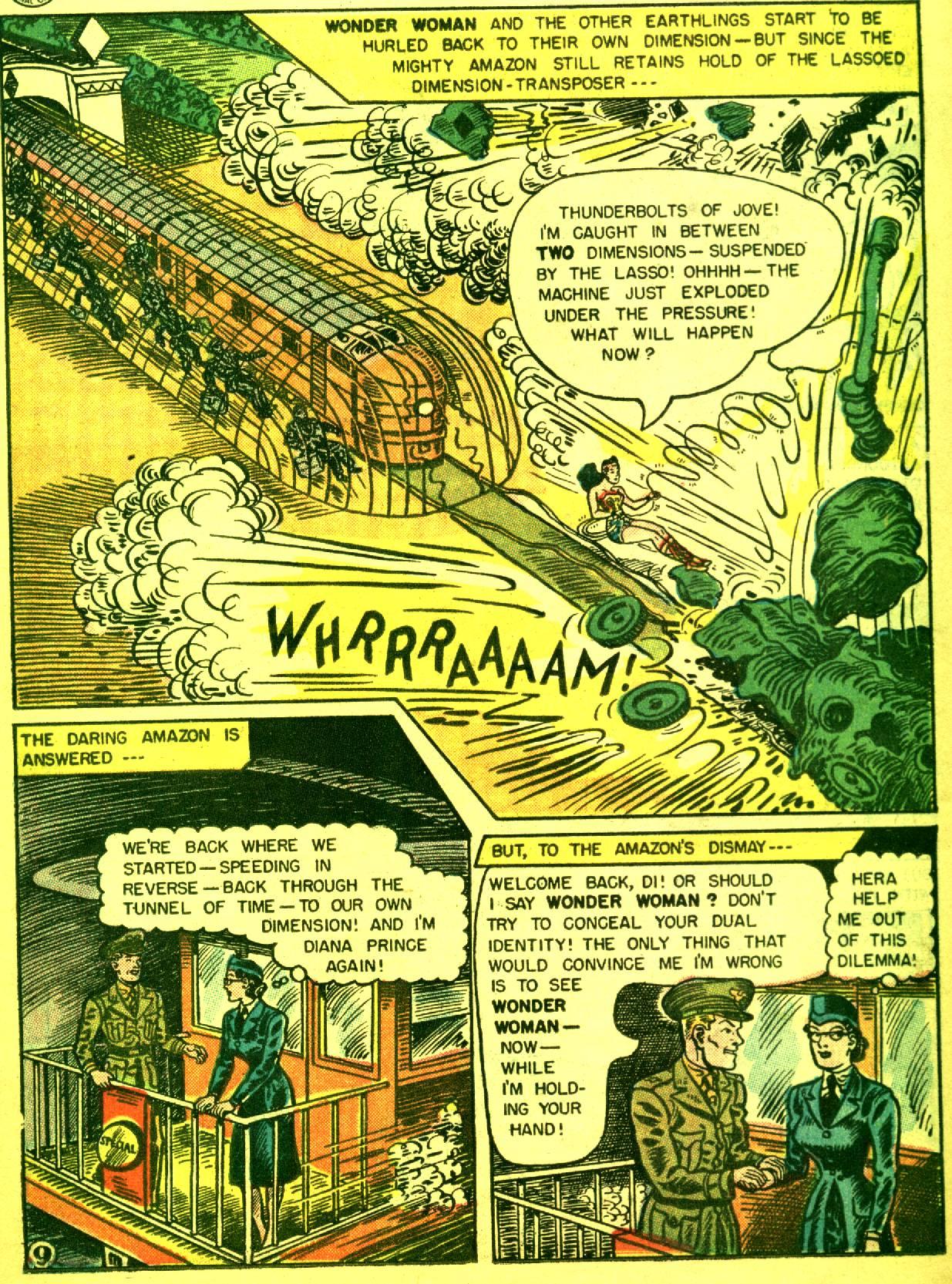 Read online Wonder Woman (1942) comic -  Issue #92 - 11