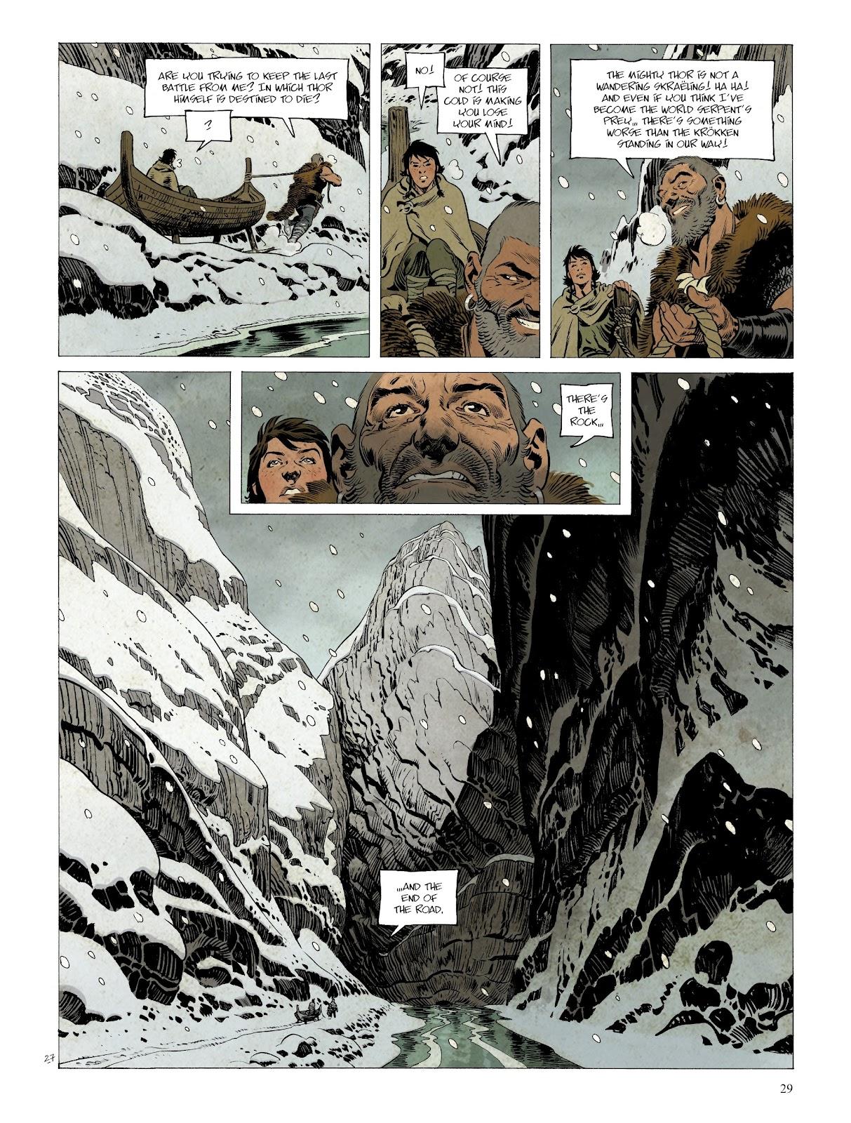 Read online Asgard comic -  Issue #2 - 31