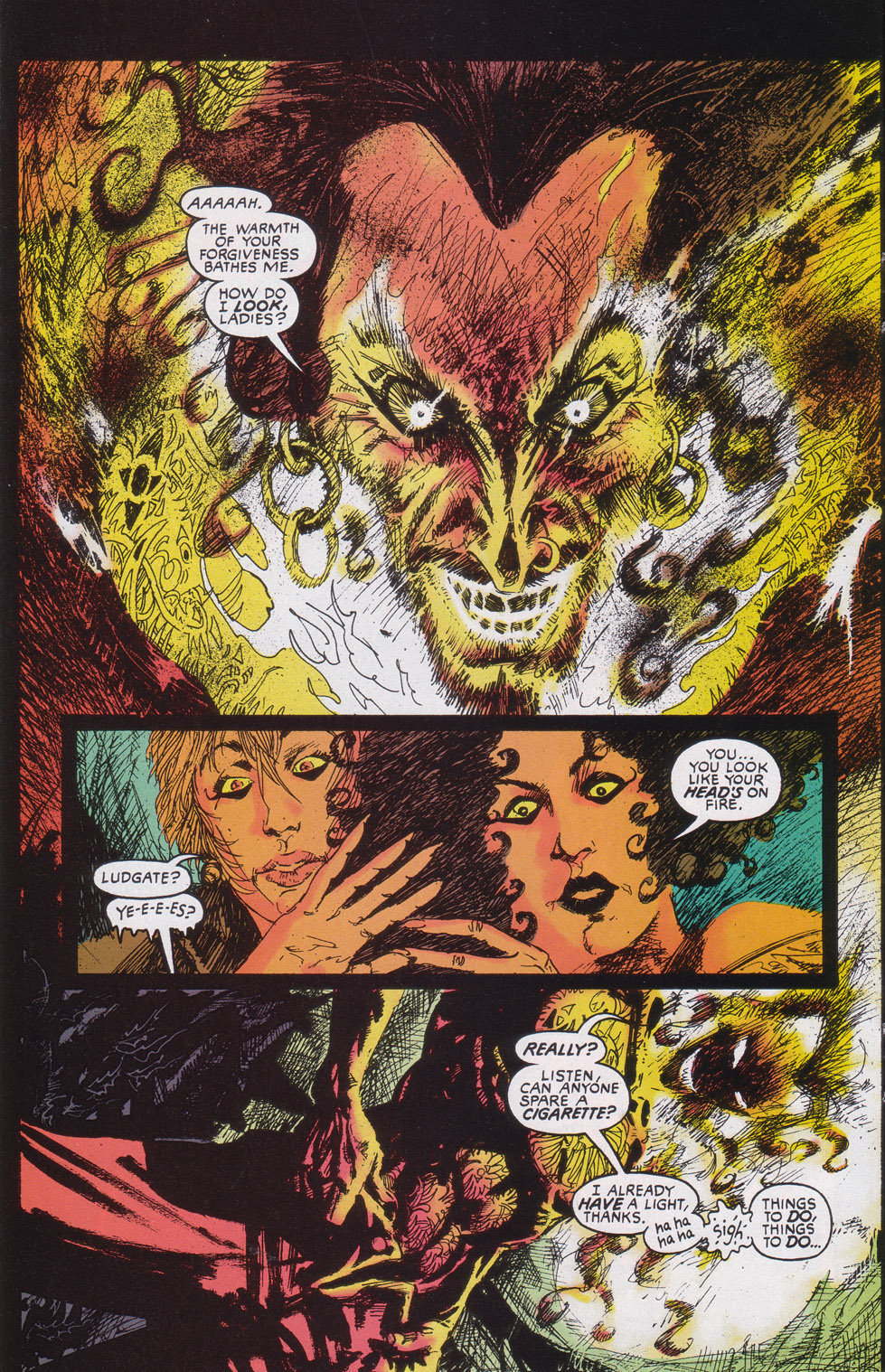 Read online Druid comic -  Issue #4 - 11