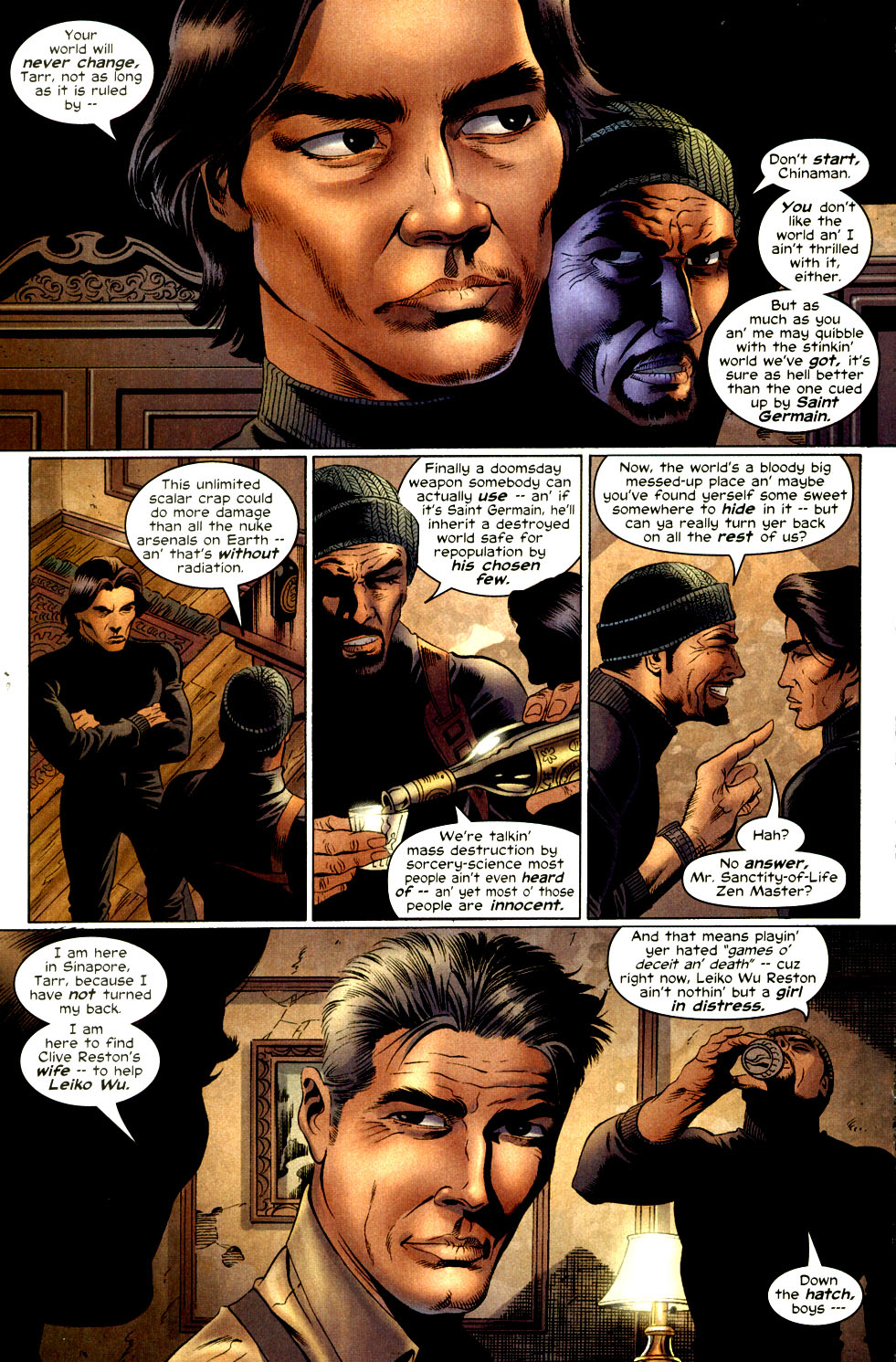 Read online Shang-Chi: Master of Kung Fu comic -  Issue #2 - 13