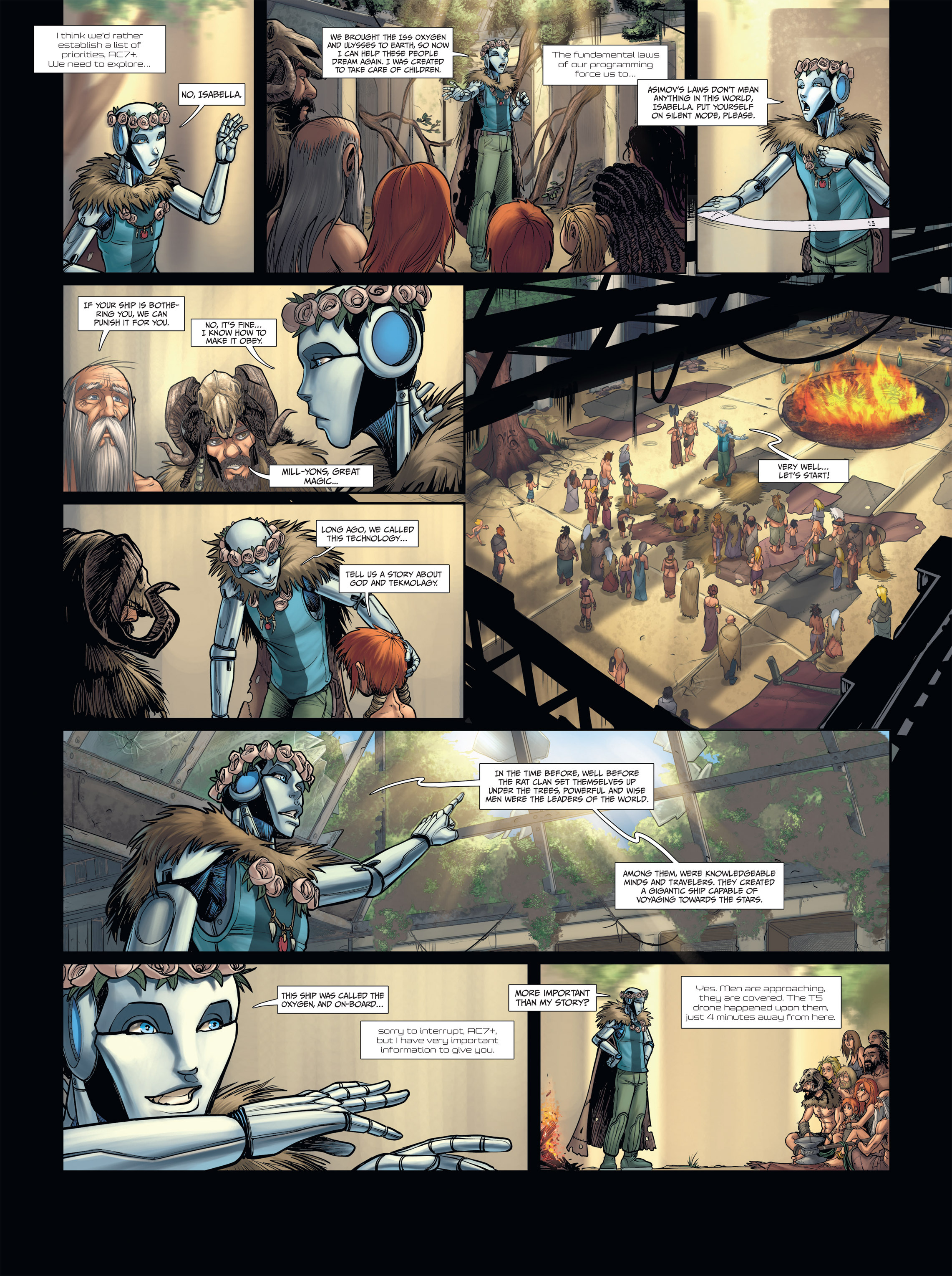Read online Androïds comic -  Issue #2 - 23