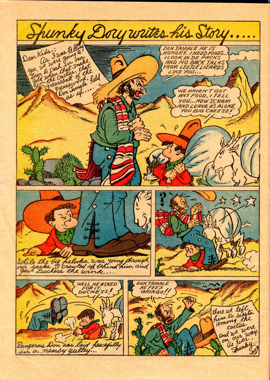 Read online Famous Funnies comic -  Issue #67 - 63