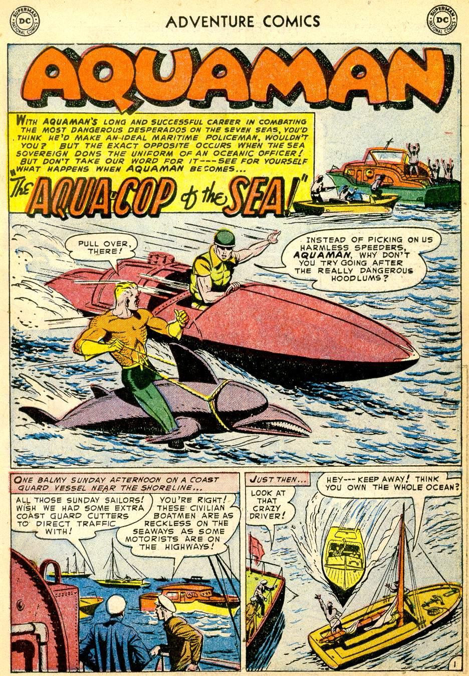 Read online Adventure Comics (1938) comic -  Issue #191 - 17