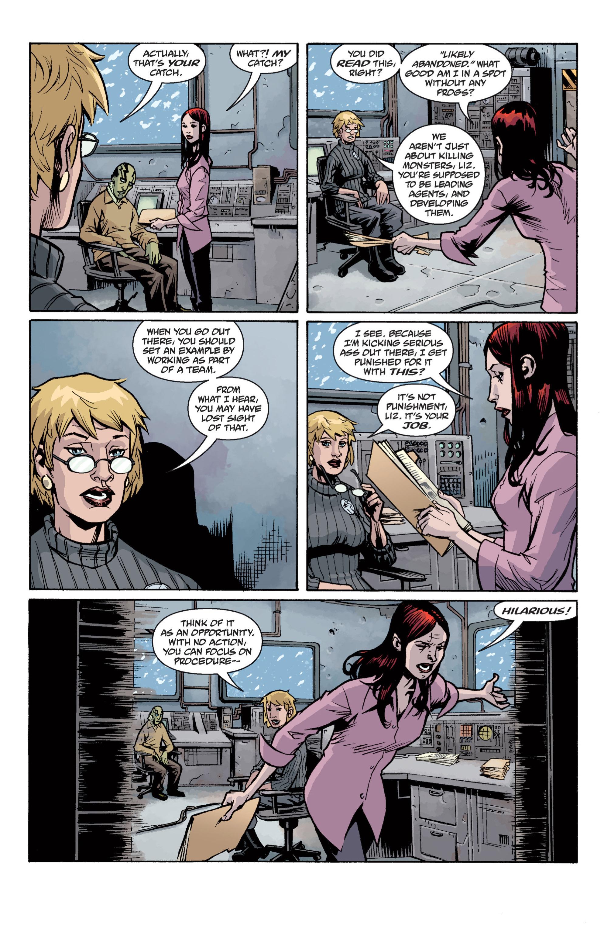 Read online B.P.R.D. (2003) comic -  Issue # TPB 12 - 115