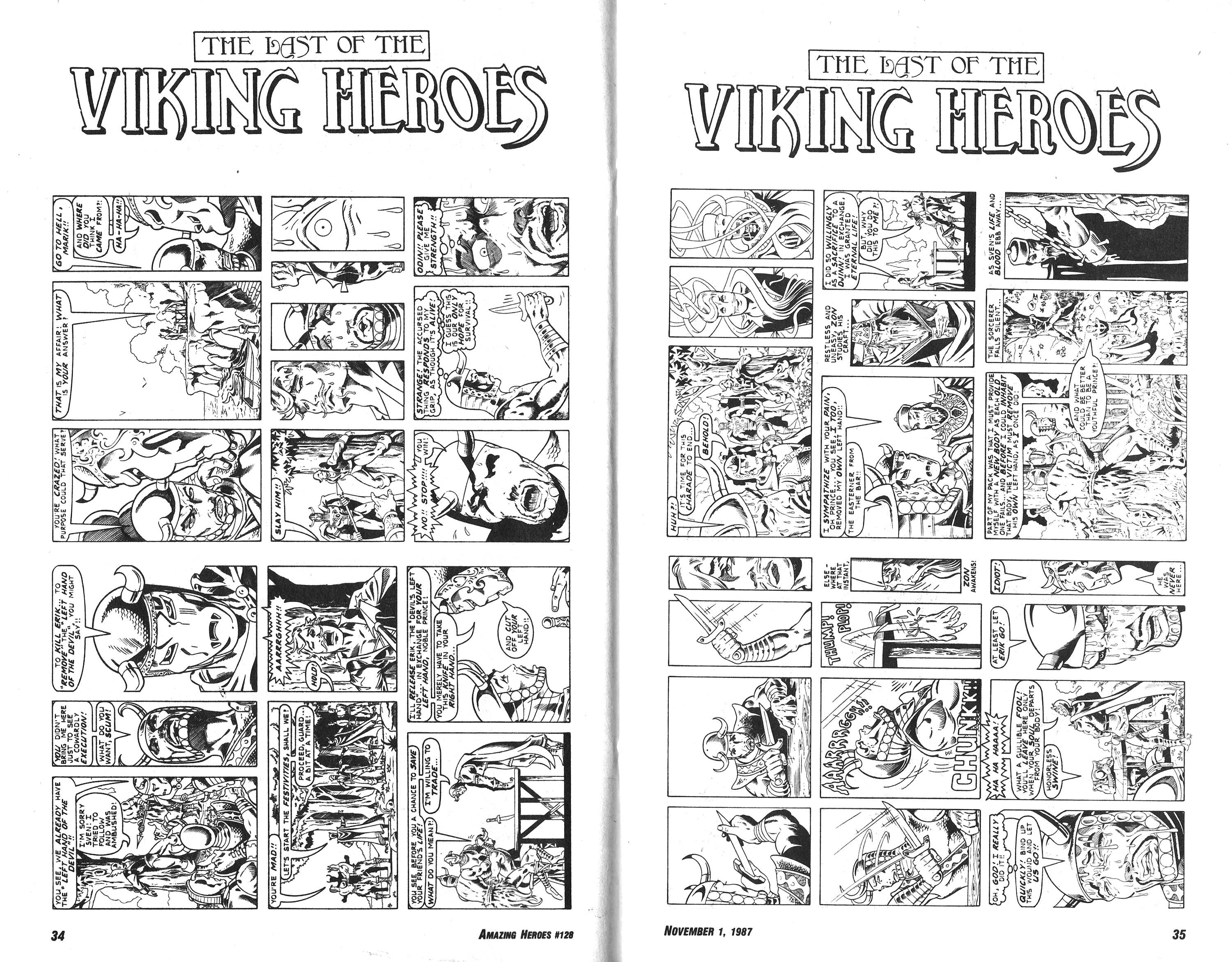 Read online Amazing Heroes comic -  Issue #128 - 18