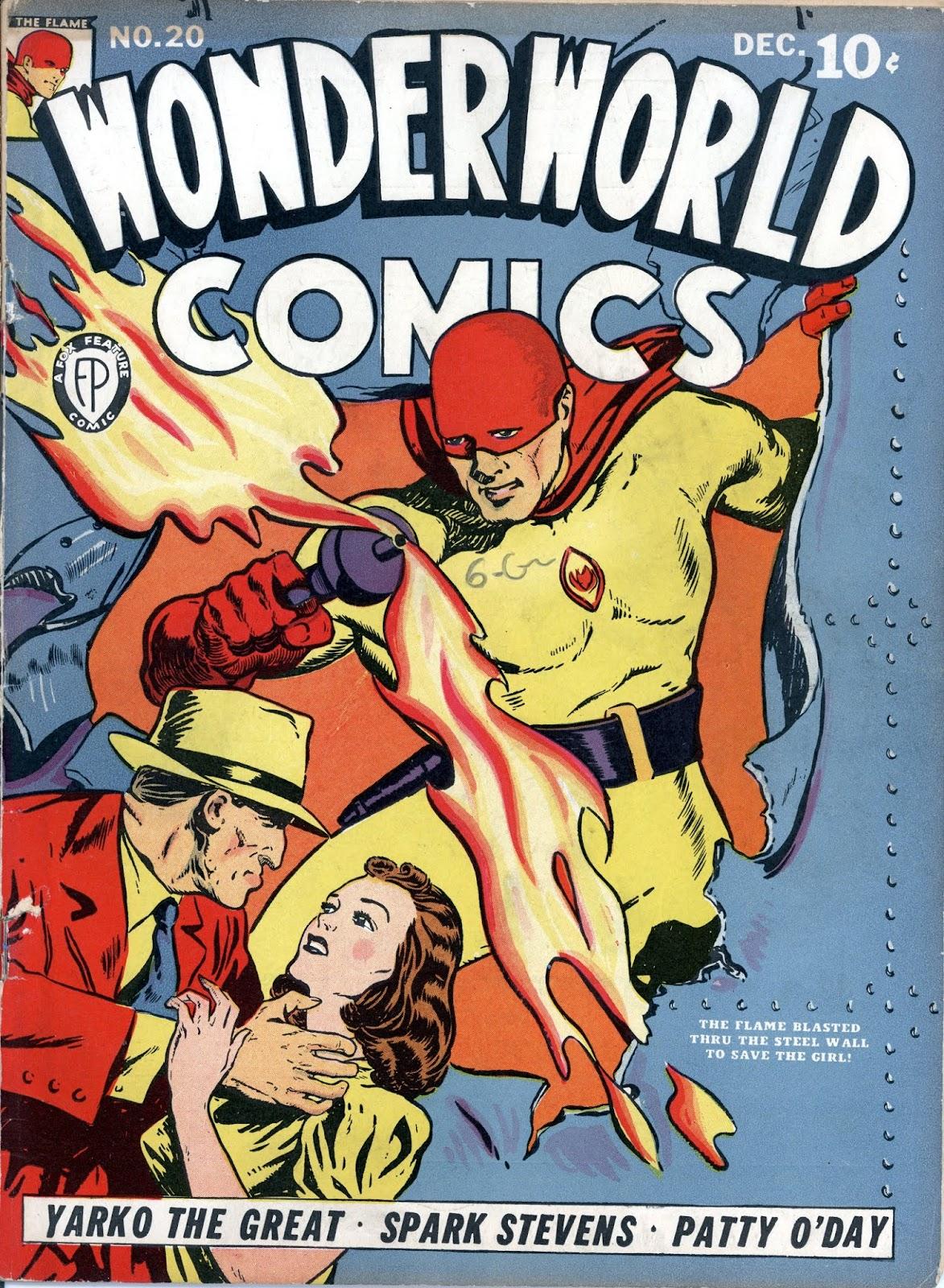 Wonderworld Comics issue 20 - Page 1