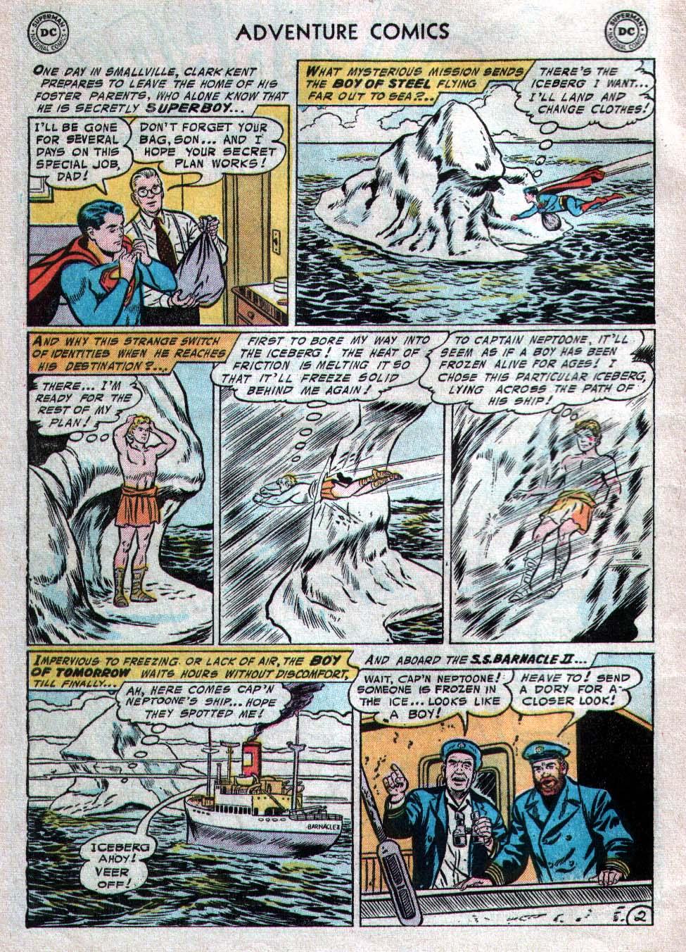 Read online Adventure Comics (1938) comic -  Issue #223 - 4