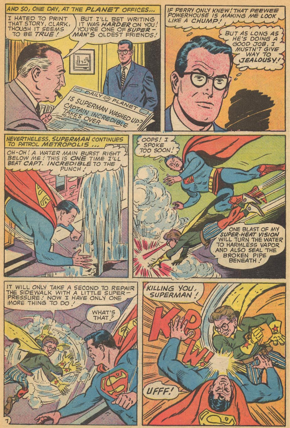 Read online Action Comics (1938) comic -  Issue #354 - 10