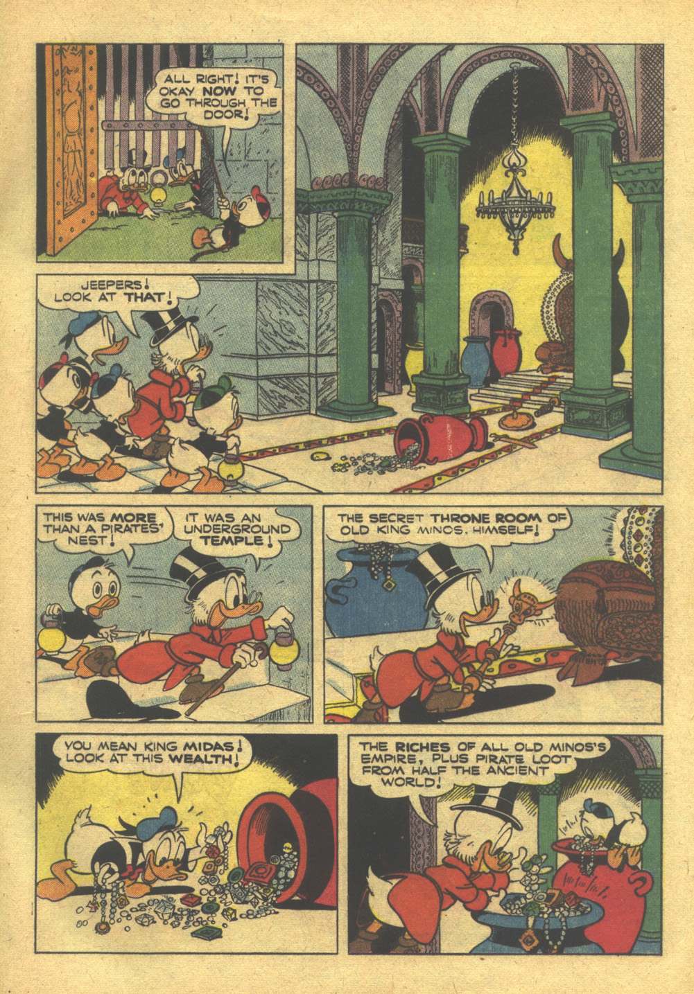 Read online Uncle Scrooge (1953) comic -  Issue #10 - 17