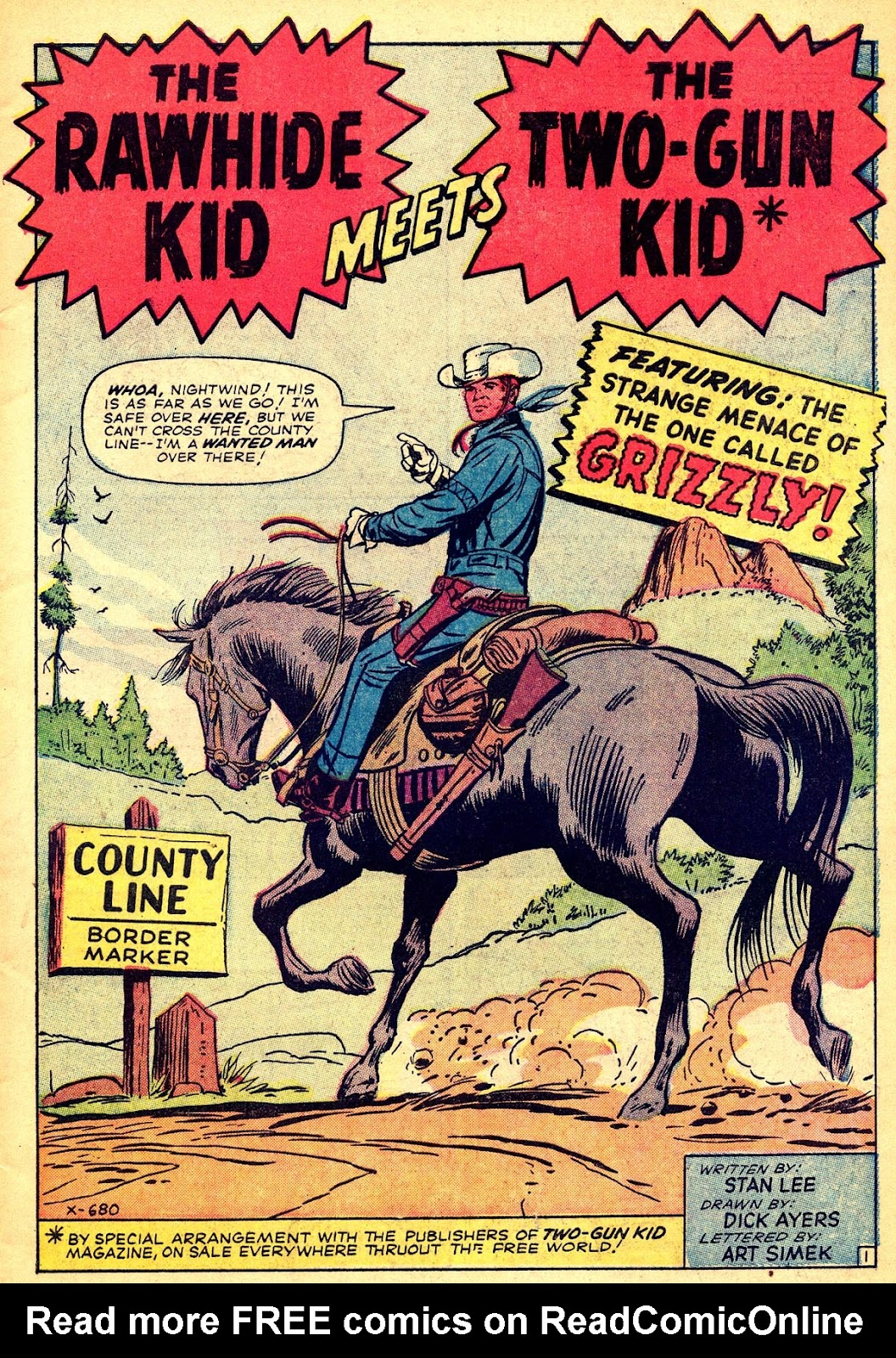 The Rawhide Kid (1955) issue 40 - Page 3