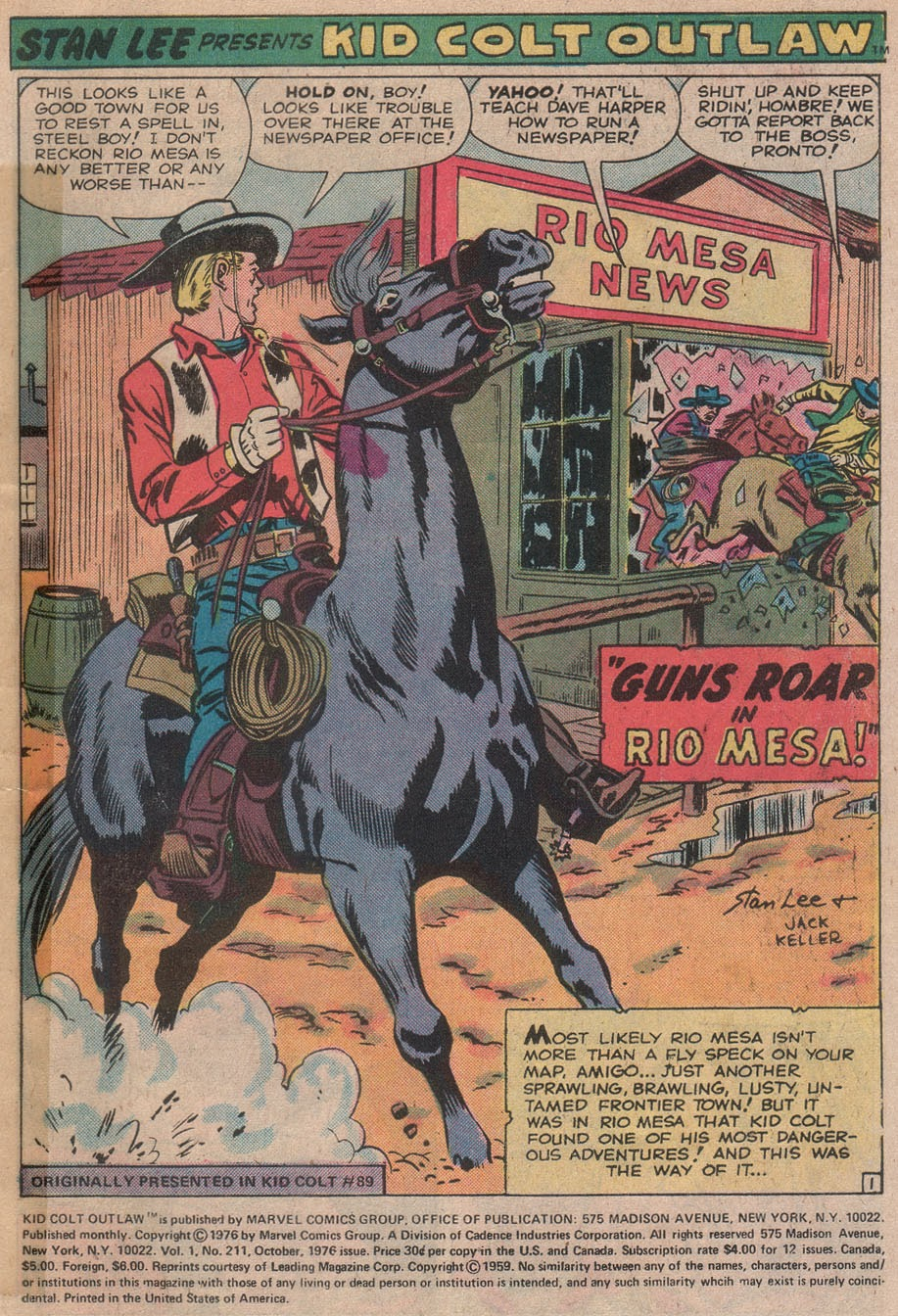 Kid Colt Outlaw issue 211 - Page 3
