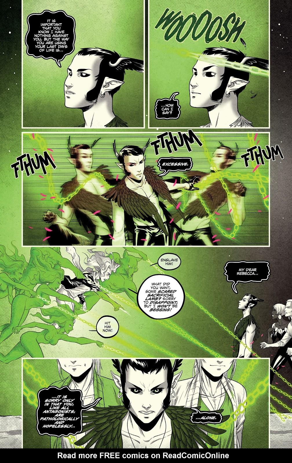 Read online Nomen Omen comic -  Issue #6 - 17