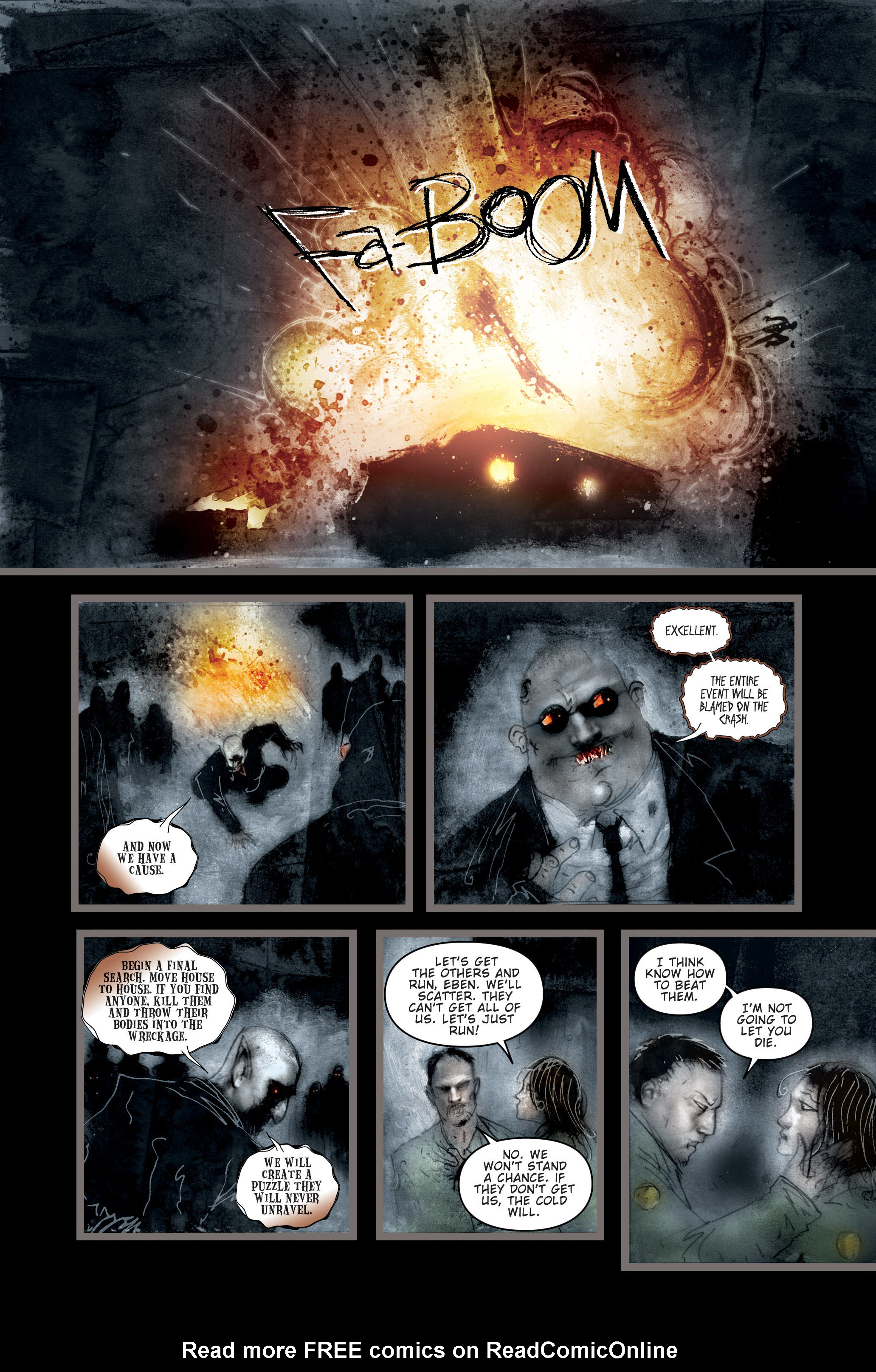 Read online 30 Days of Night (2002) comic -  Issue #3 - 13